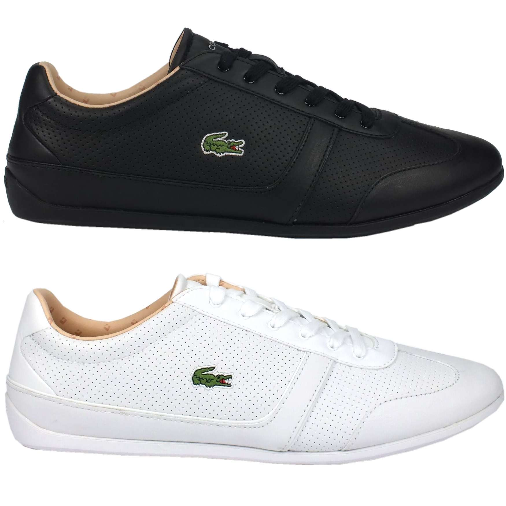 lacoste missano sport piq3 schuhe sneaker sportschuhe. Black Bedroom Furniture Sets. Home Design Ideas
