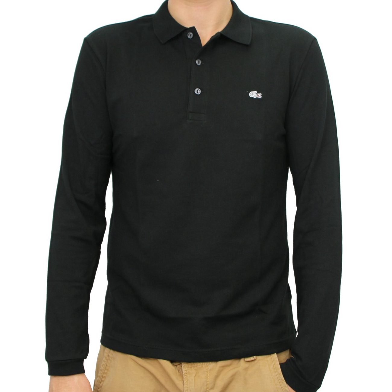 lacoste polo slim fit poloshirt polohemd langarm herren diverse farben ph4010 ebay. Black Bedroom Furniture Sets. Home Design Ideas