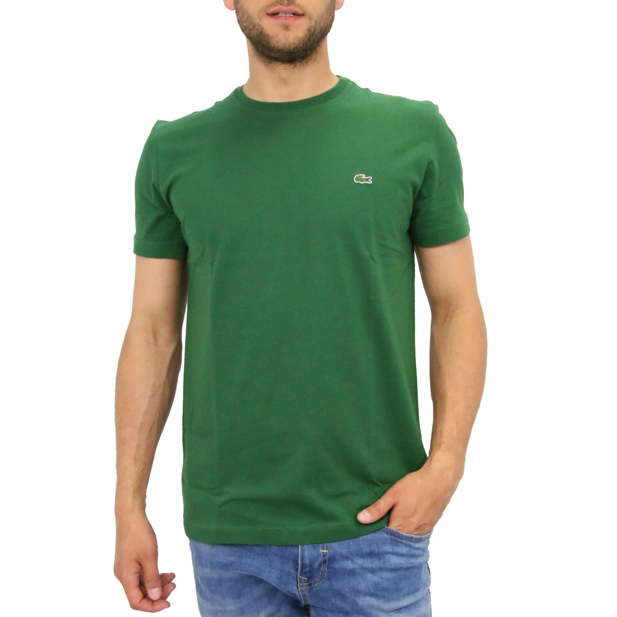 lacoste rundhals t shirt shirt kurzarm herren diverse. Black Bedroom Furniture Sets. Home Design Ideas