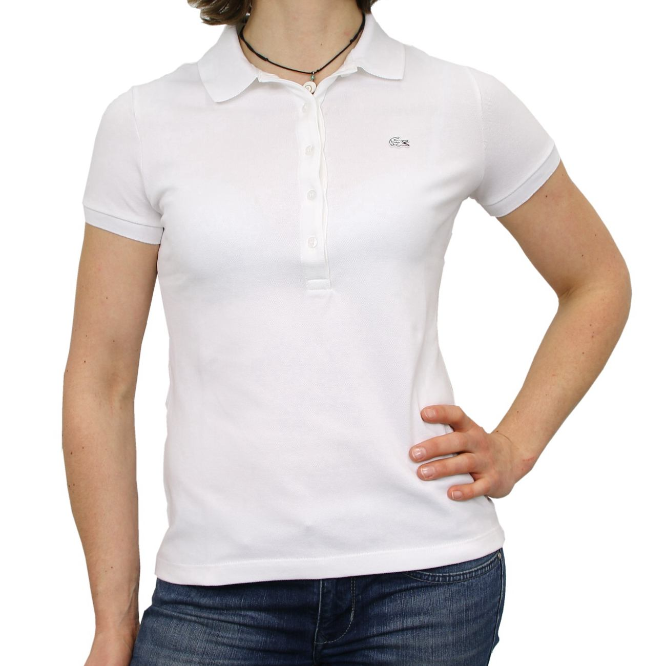 lacoste polo shirt polo t shirt baumwollstretch short sleeve ladies. Black Bedroom Furniture Sets. Home Design Ideas