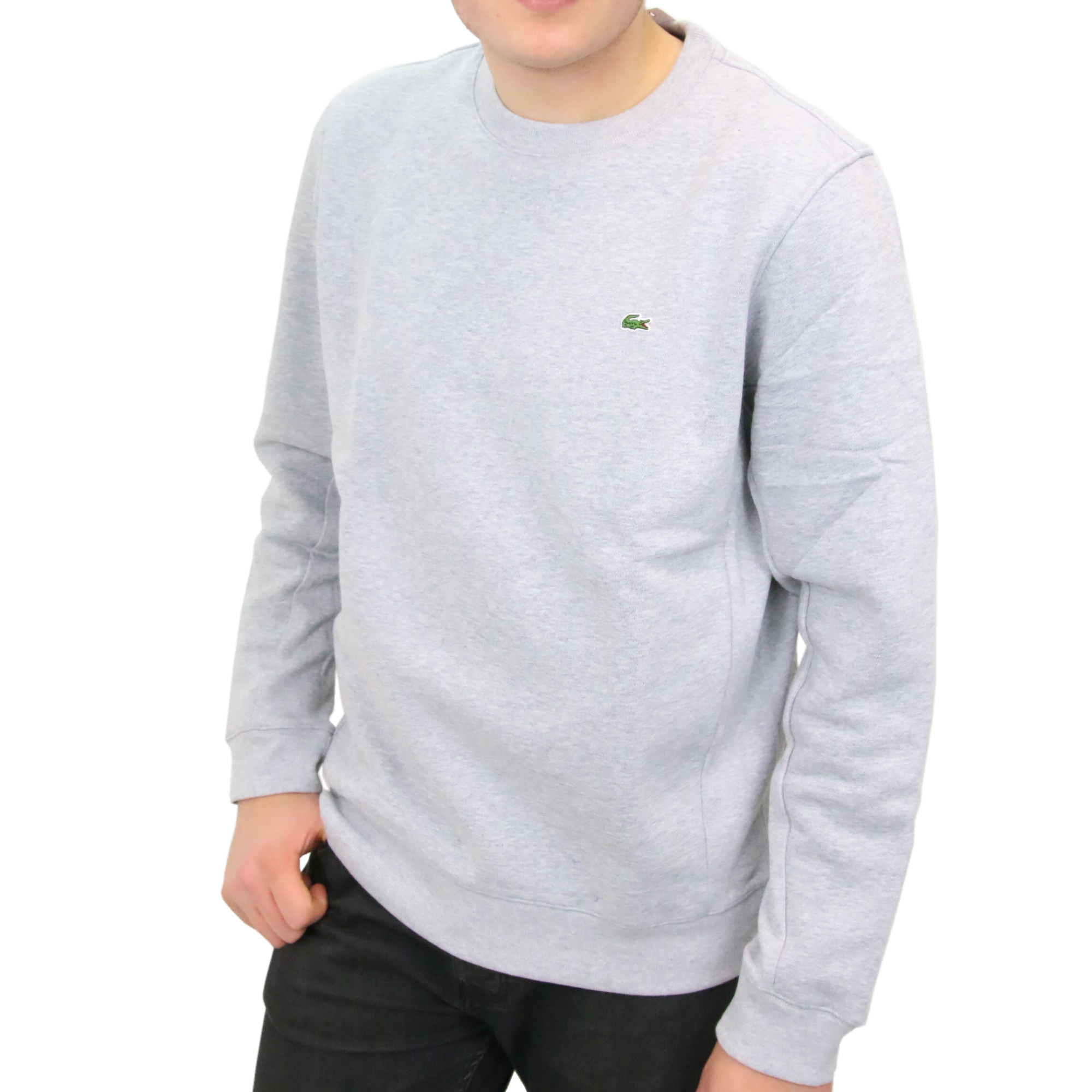 lacoste sweatshirt pullover rundhals langarm herren ebay. Black Bedroom Furniture Sets. Home Design Ideas