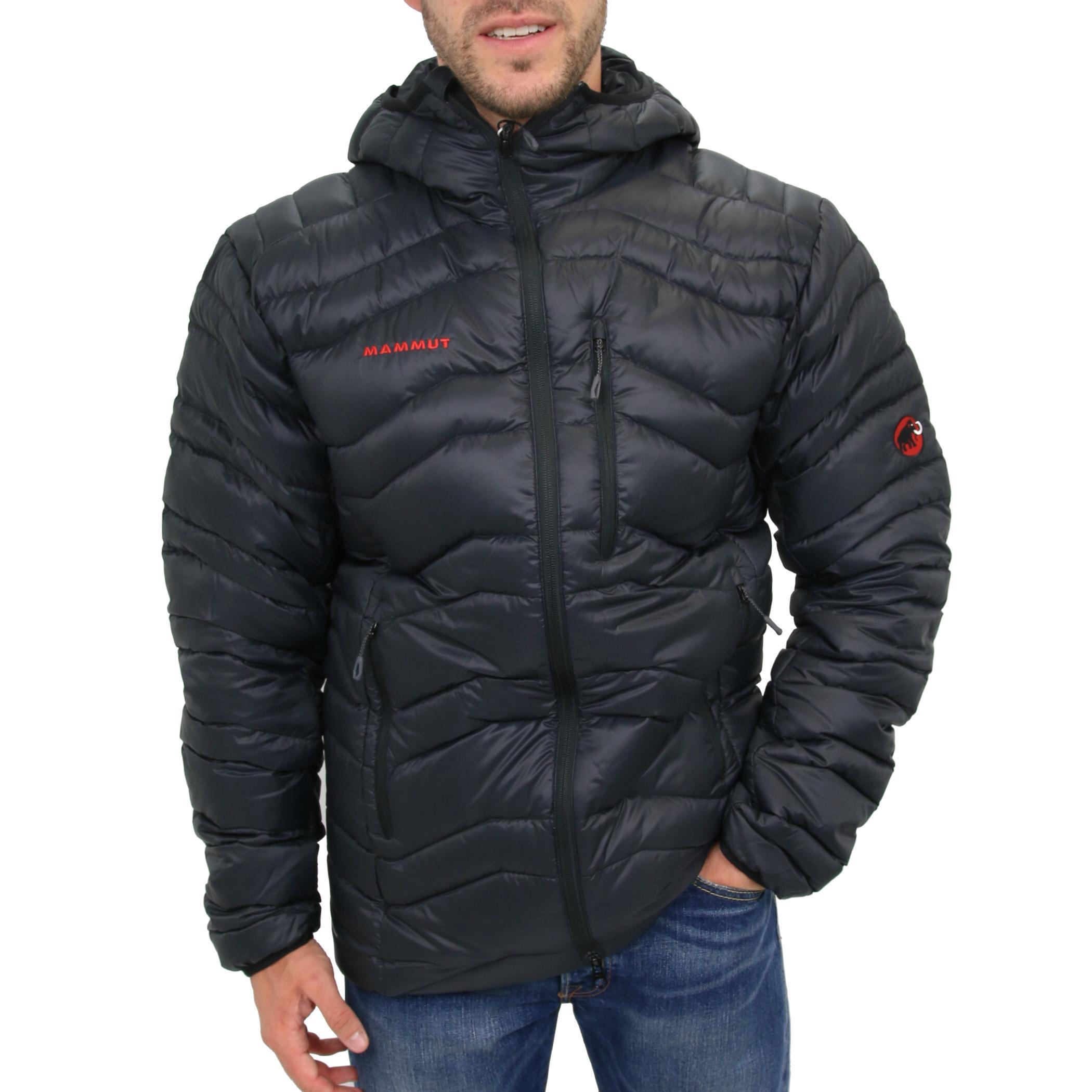 mammut broad peak in hooded jacket black jacke winterjacke kapuze herren schwarz ebay. Black Bedroom Furniture Sets. Home Design Ideas