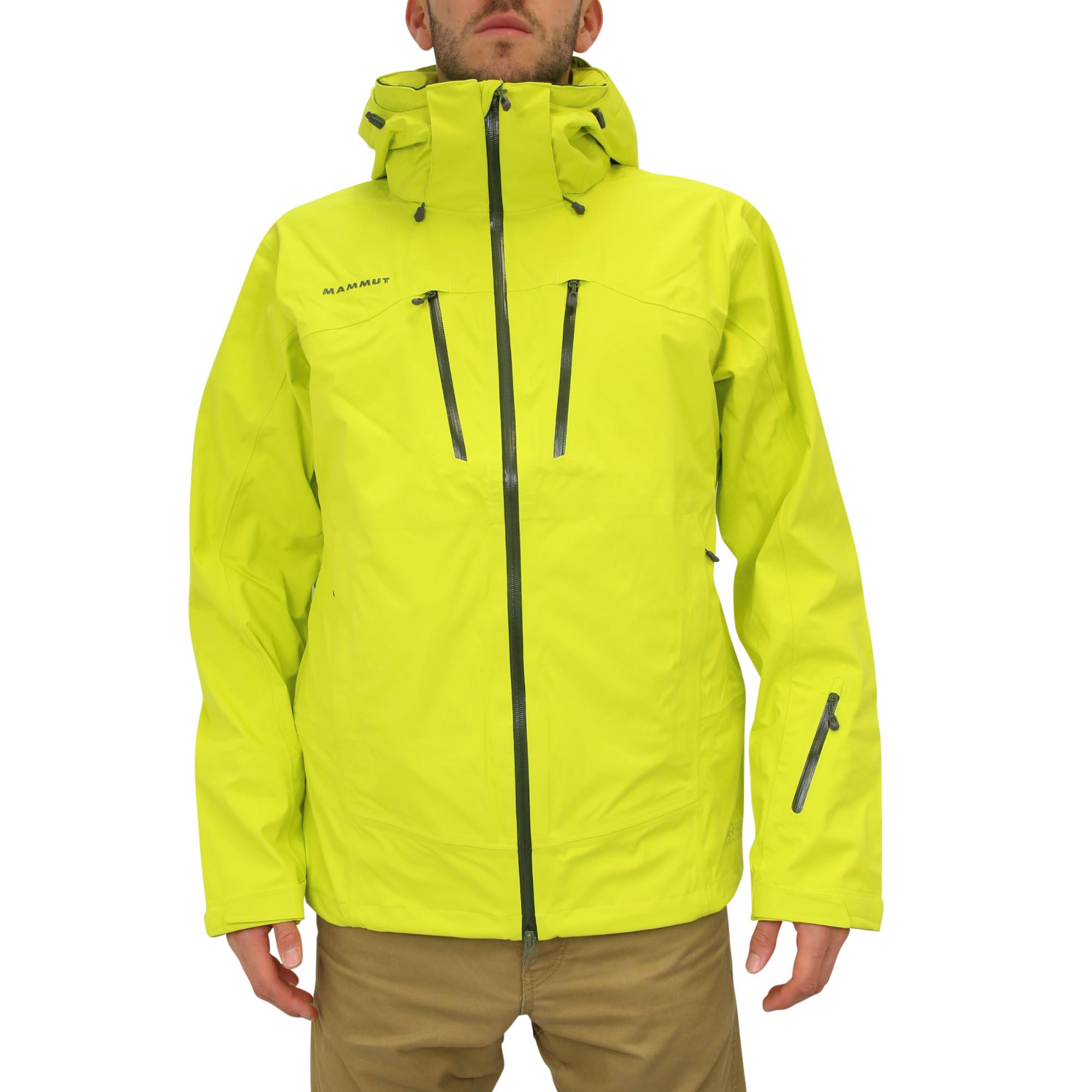 mammut stoney hs jacket limeade jacke winterjacke skijacke herren gelb ebay. Black Bedroom Furniture Sets. Home Design Ideas