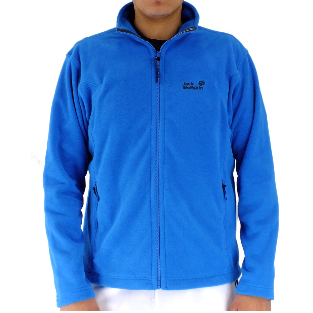 jack wolfskin moonrise jacket blue mens fleece jacket blue. Black Bedroom Furniture Sets. Home Design Ideas