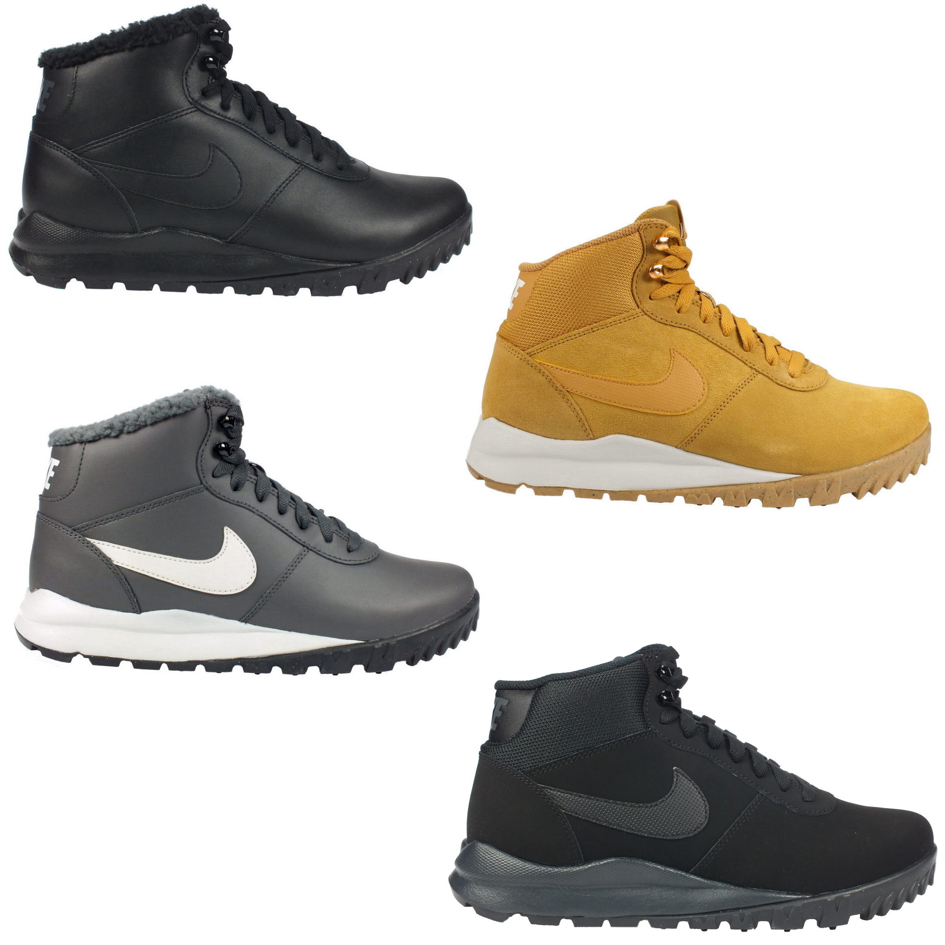 nike hoodland schuhe boots winterschuhe winterstiefel. Black Bedroom Furniture Sets. Home Design Ideas