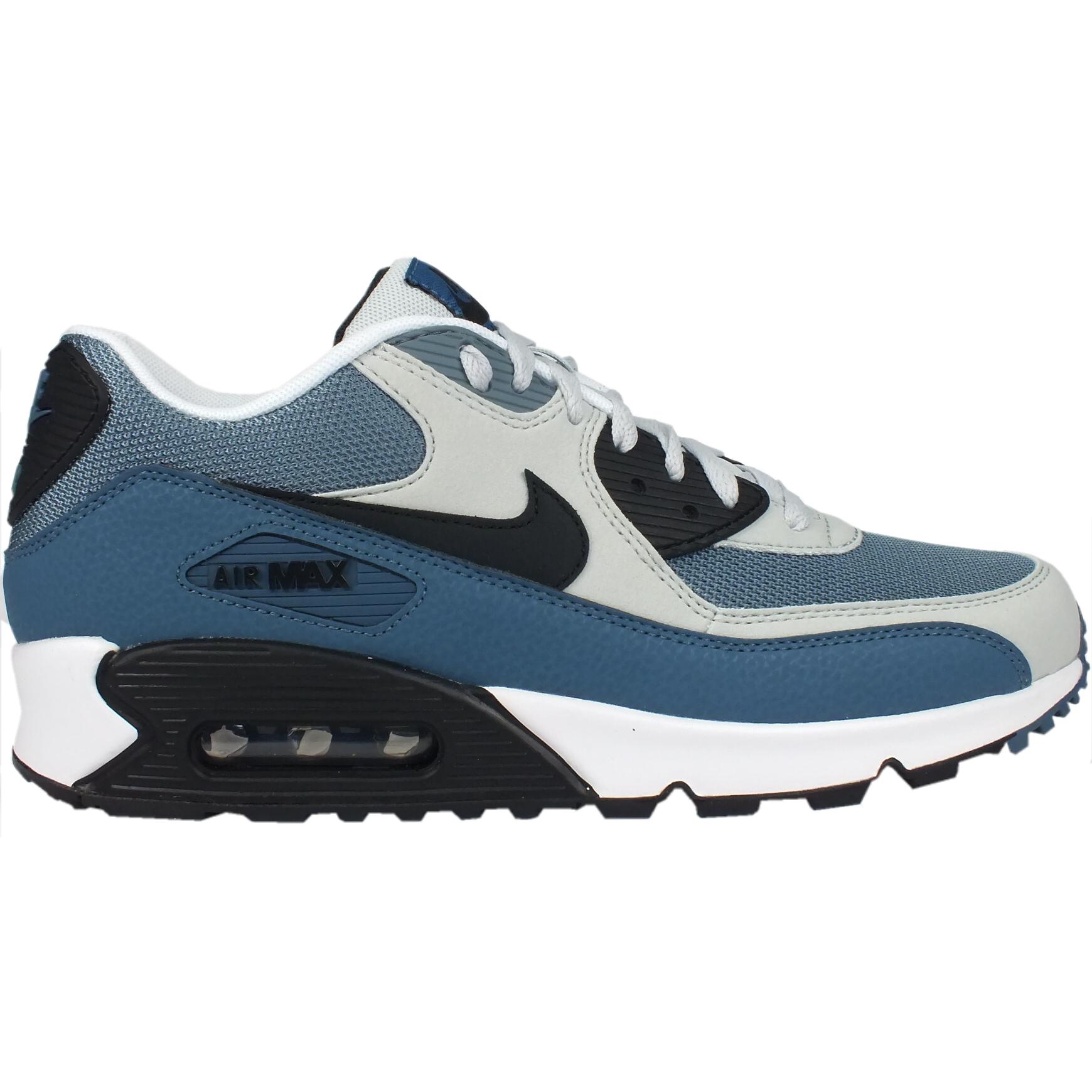 Nike Air Max 90 Essential Grau Grün