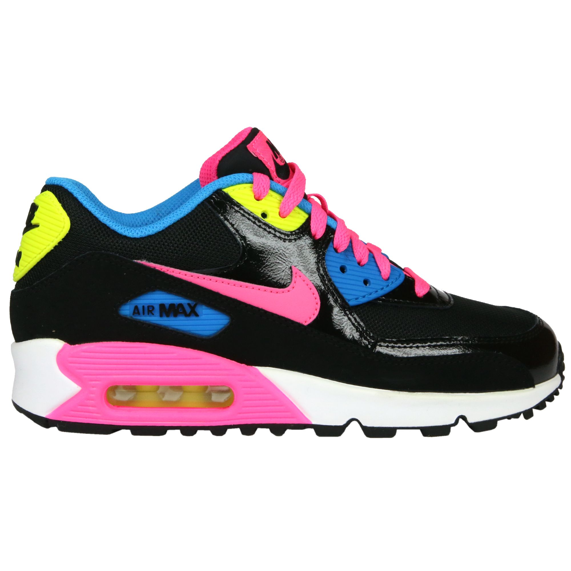 nike air max 90 gs schuhe turnschuhe sneaker damen kinder ebay. Black Bedroom Furniture Sets. Home Design Ideas