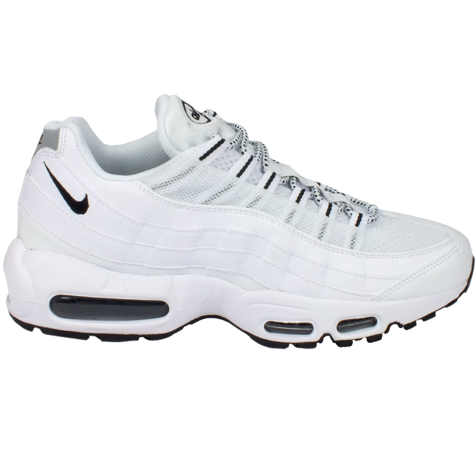 nike air max 95 schuhe turnschuhe sneaker herren wei. Black Bedroom Furniture Sets. Home Design Ideas