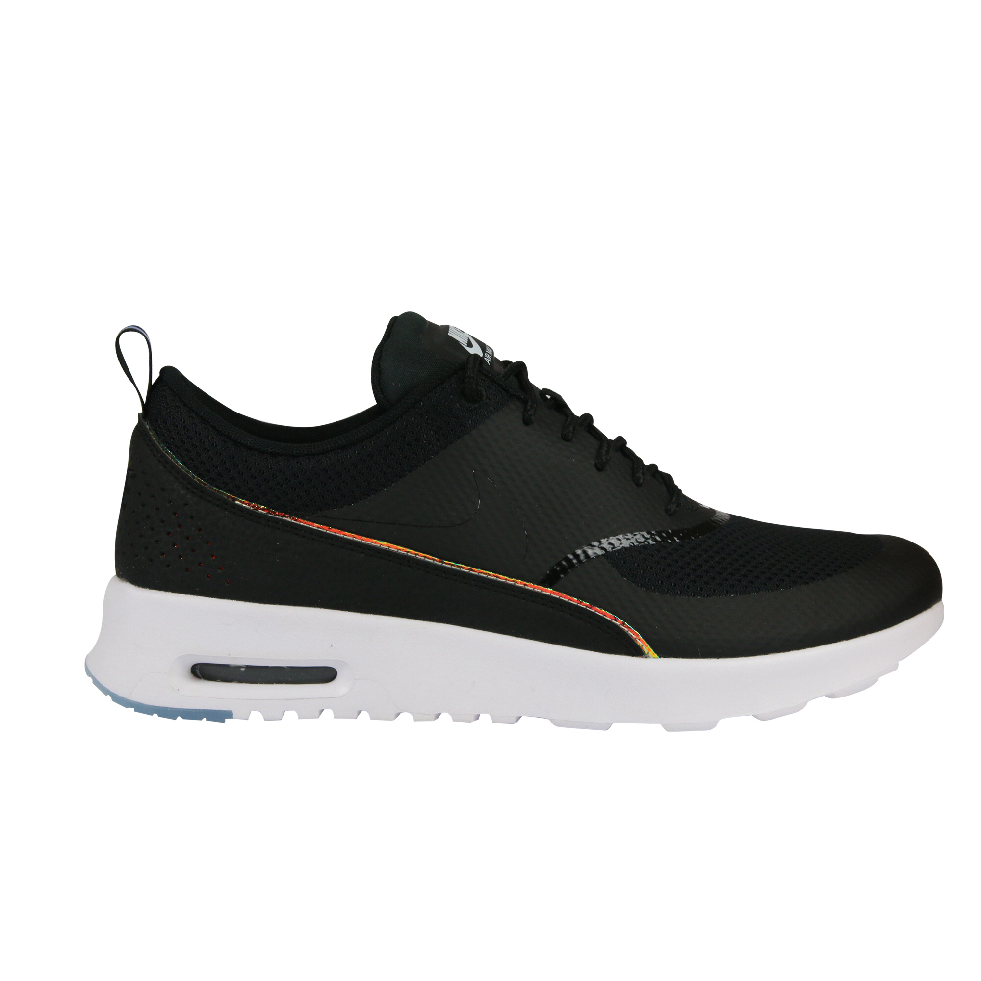 nike air max thea black premium leather sneakers graysands. Black Bedroom Furniture Sets. Home Design Ideas