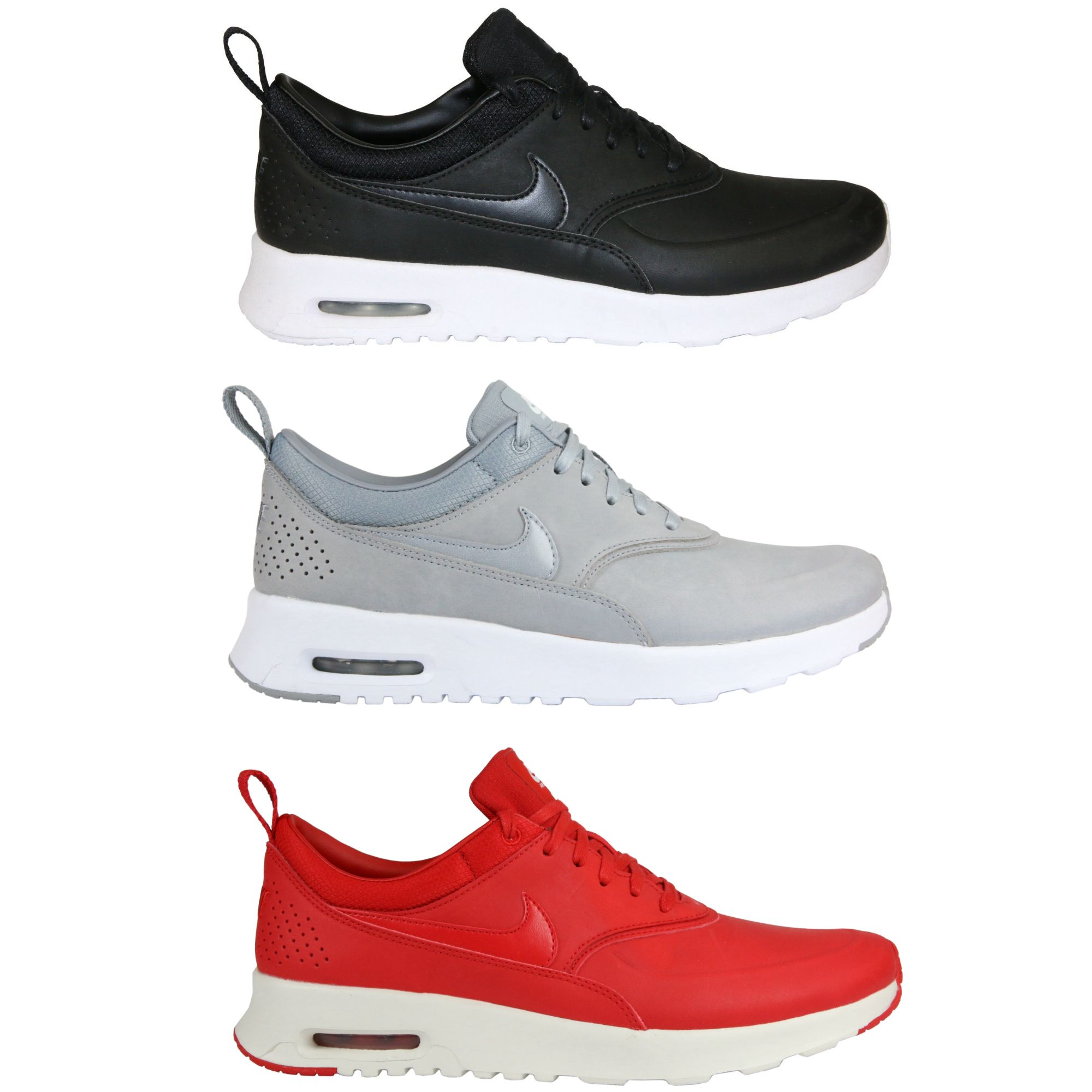 nike air max thea premium schuhe sneaker turnschuhe leder. Black Bedroom Furniture Sets. Home Design Ideas