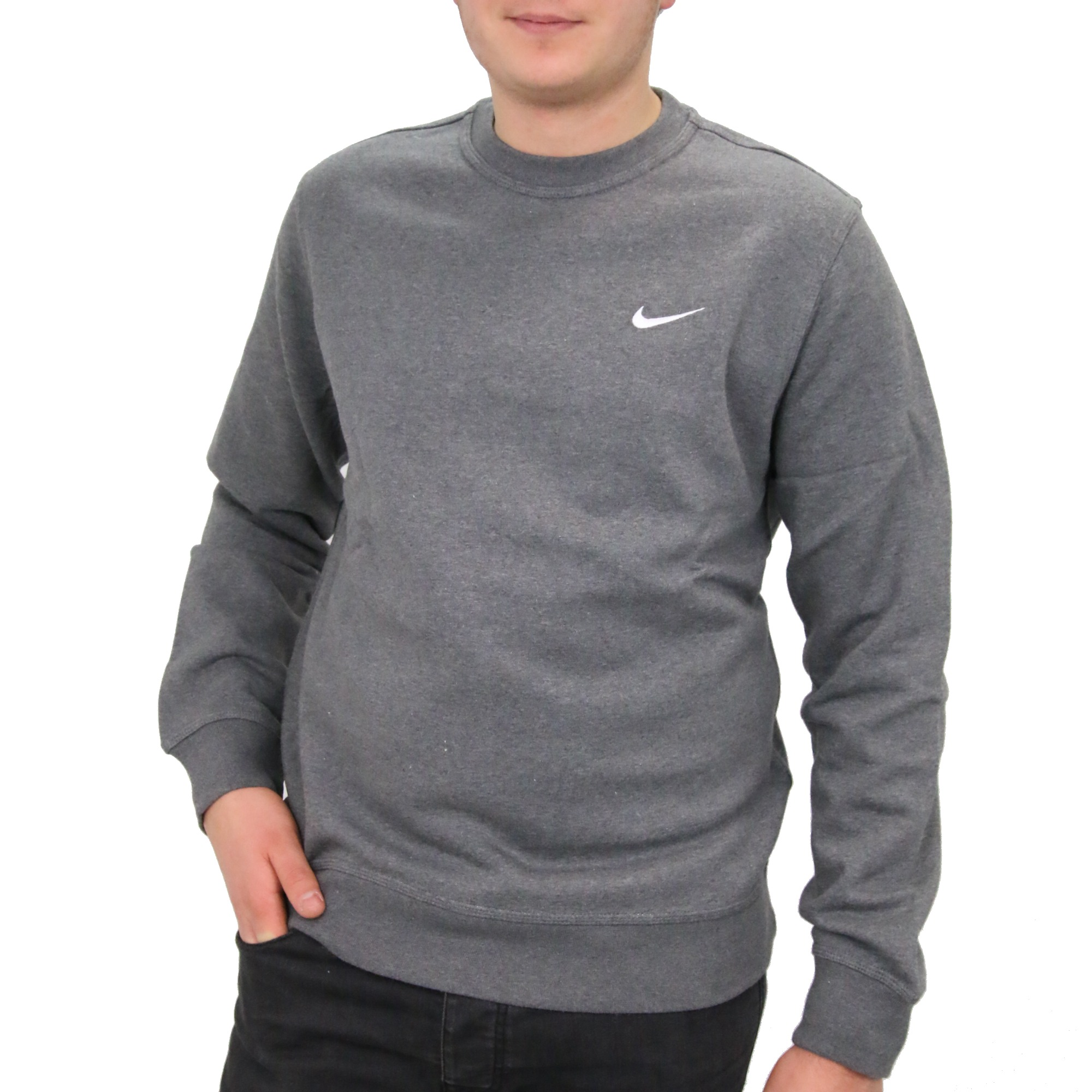 nike club crew pull sweatshirt hommes fitness pull hiver pull ebay. Black Bedroom Furniture Sets. Home Design Ideas