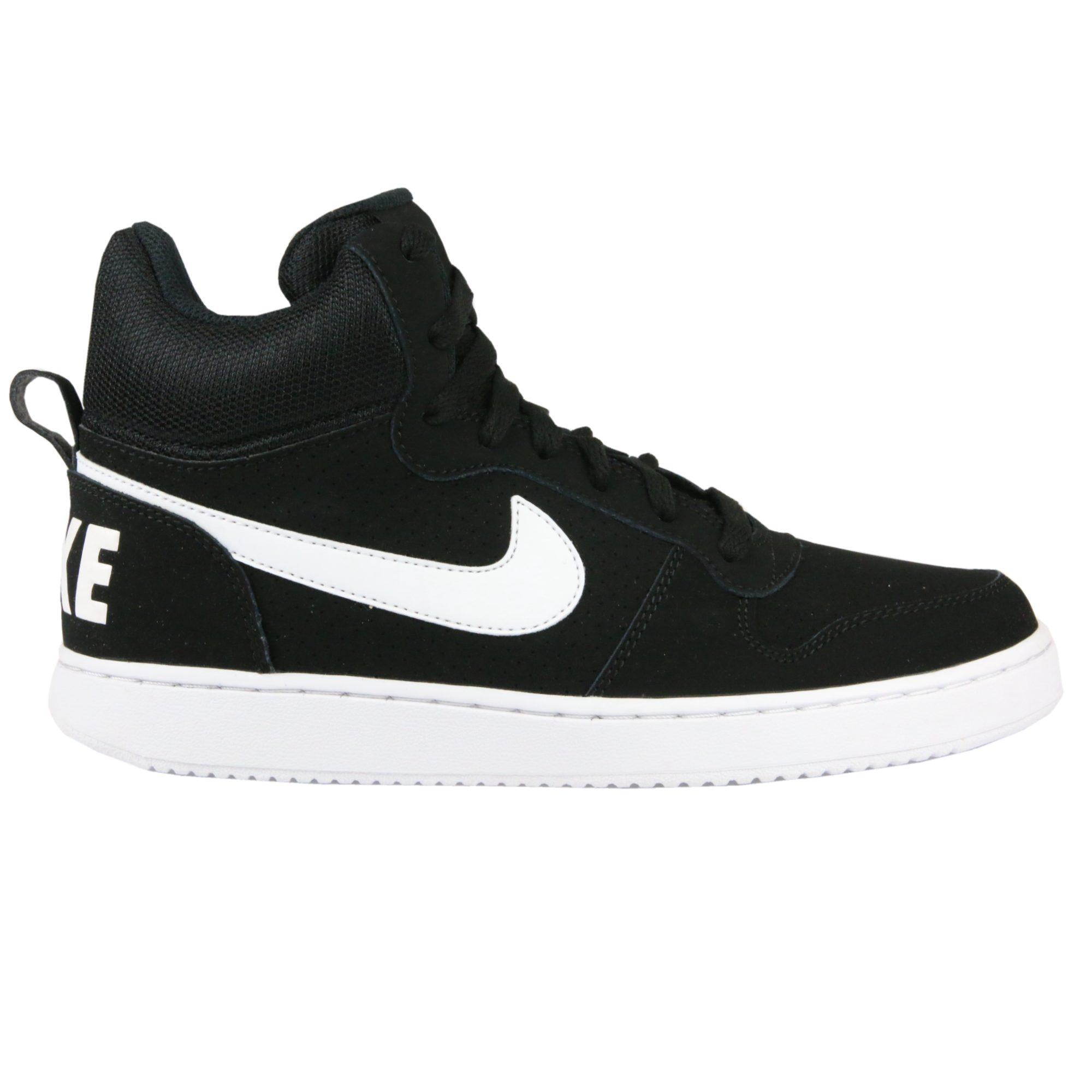 nike court borough mid schuhe turnscuhe sneaker high top damen schwarz ebay. Black Bedroom Furniture Sets. Home Design Ideas