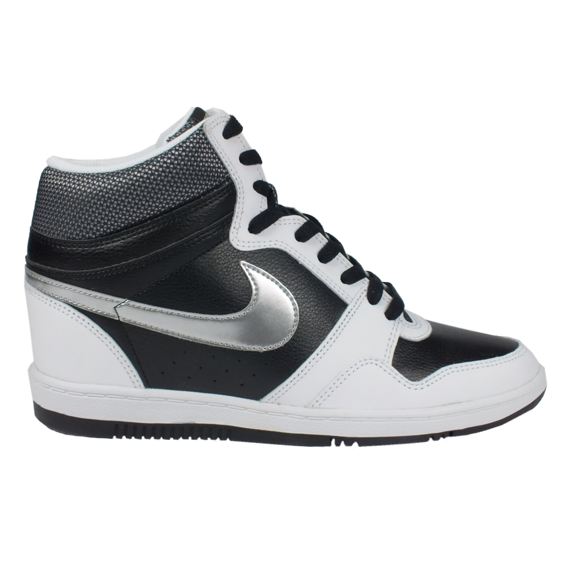 Nike Force Sky Hi Leather Women Sneaker with hidden wedge ...
