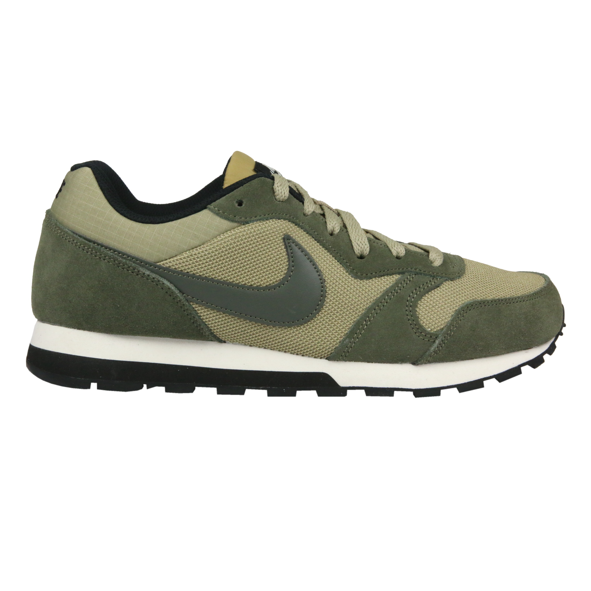 nike md runner 2 chaussures de sport sneaker hommes vert neutre olive 749794 220 ebay. Black Bedroom Furniture Sets. Home Design Ideas