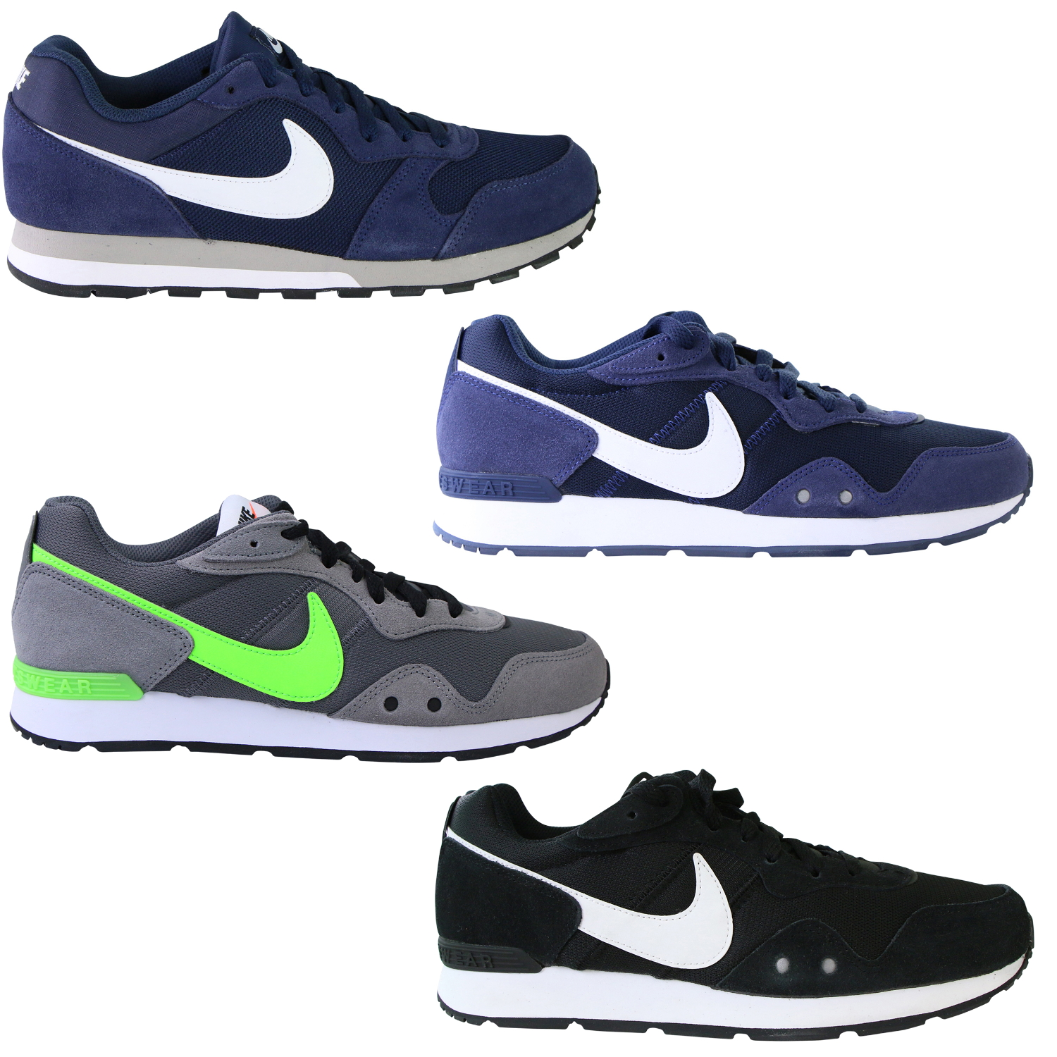 nike md runner 2 schuhe sneaker turnschuhe herren. Black Bedroom Furniture Sets. Home Design Ideas