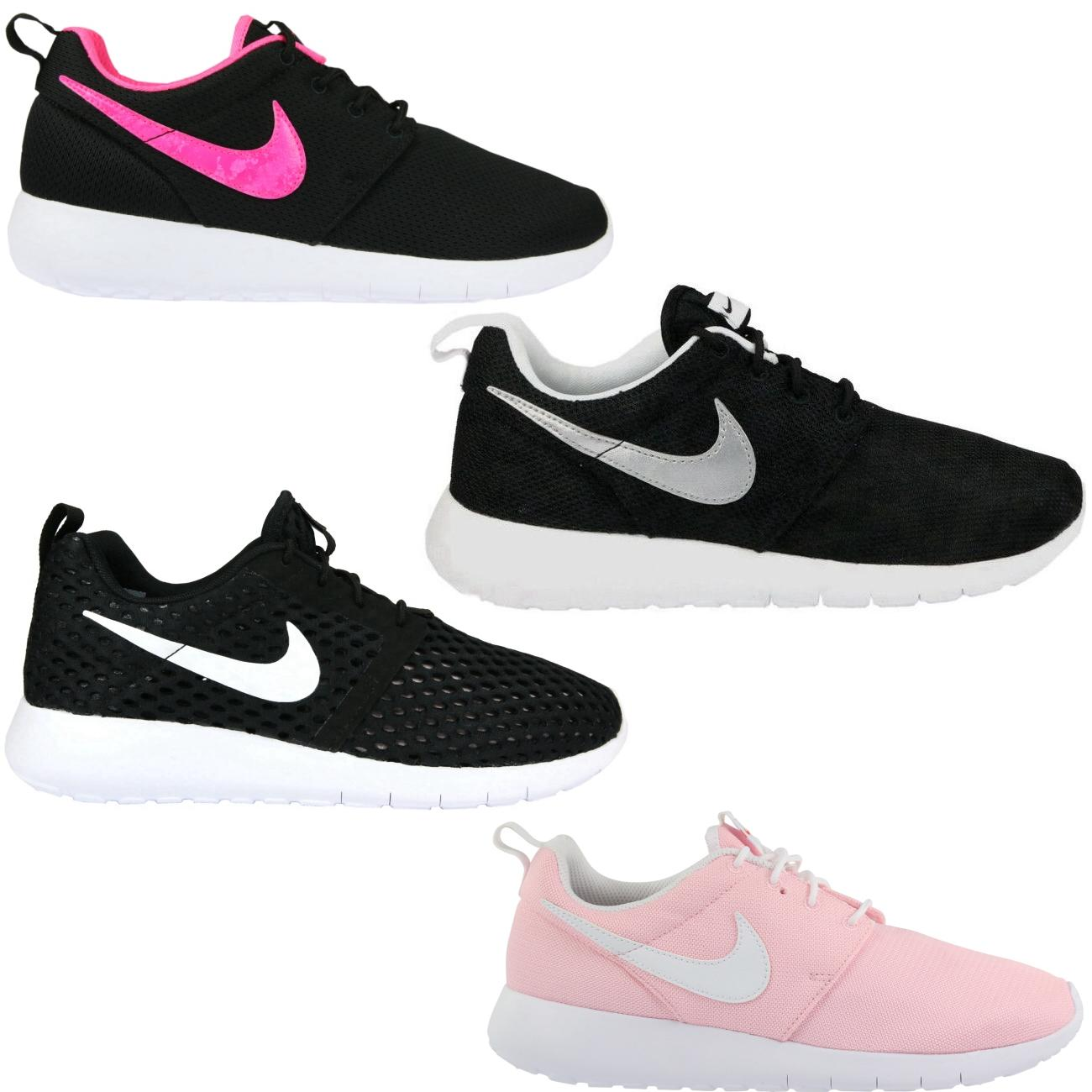 Roshe Run Grau Pink