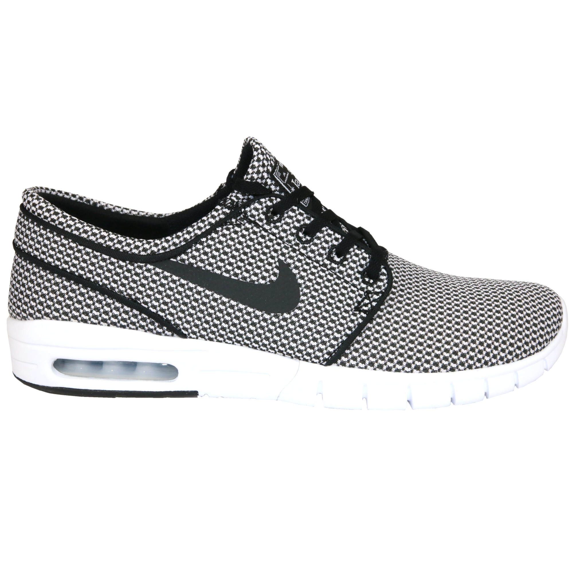 nike sb stefan janoski max schuhe turnschuhe sneaker damen herren wei schwarz ebay. Black Bedroom Furniture Sets. Home Design Ideas