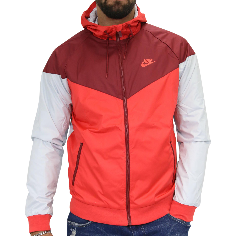 nike sportswear windrunner herren jacke jacket sport rot. Black Bedroom Furniture Sets. Home Design Ideas