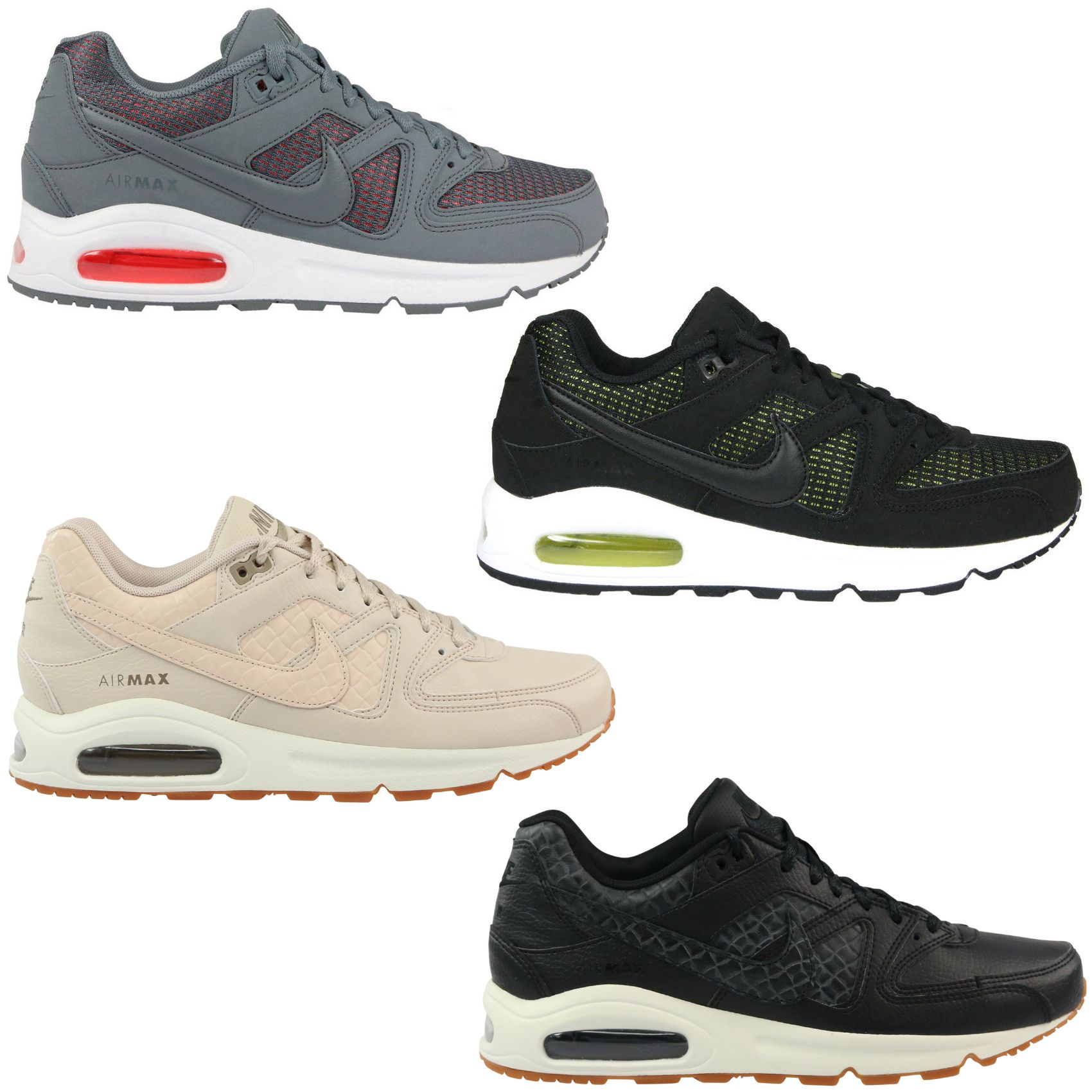 nike wmns air max command schuhe sneaker turnschuhe damen schwarz ebay. Black Bedroom Furniture Sets. Home Design Ideas