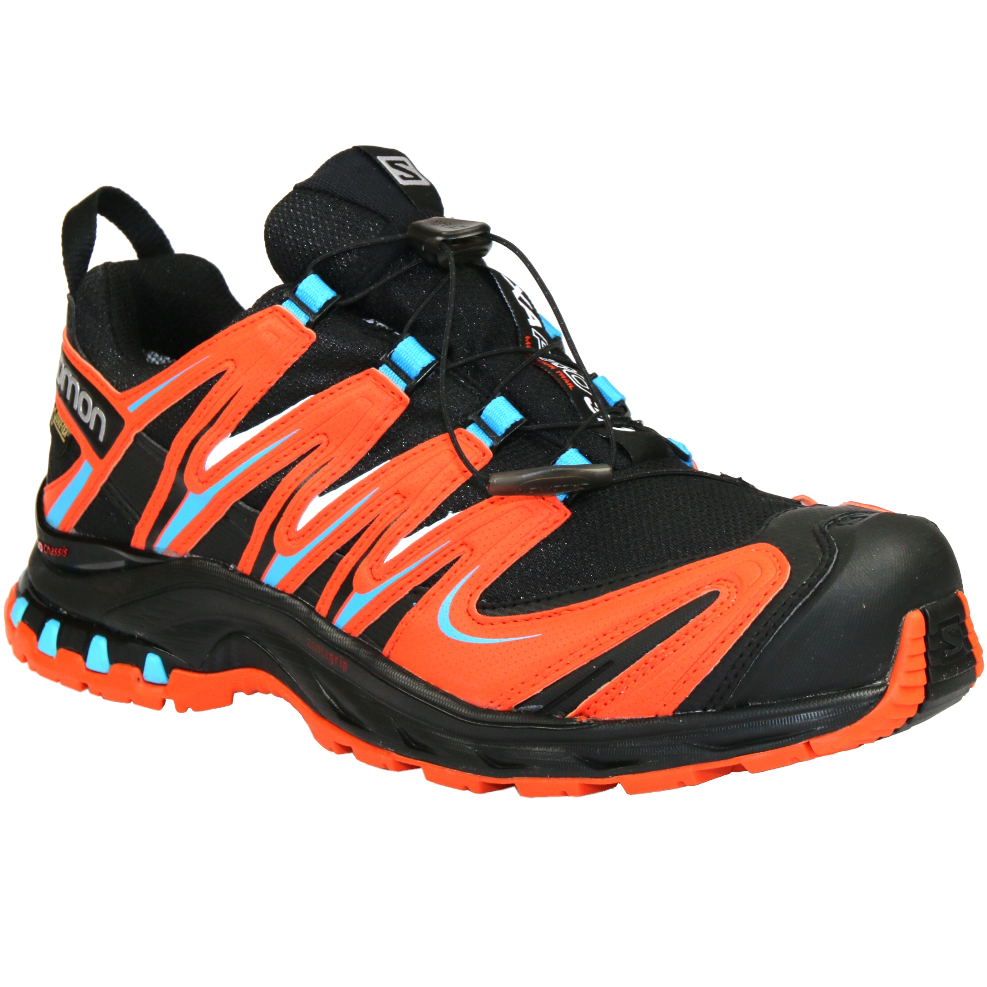 salomon xa pro 3d gtx gore tex schuhe wanderschuhe trail running trekking herren ebay. Black Bedroom Furniture Sets. Home Design Ideas