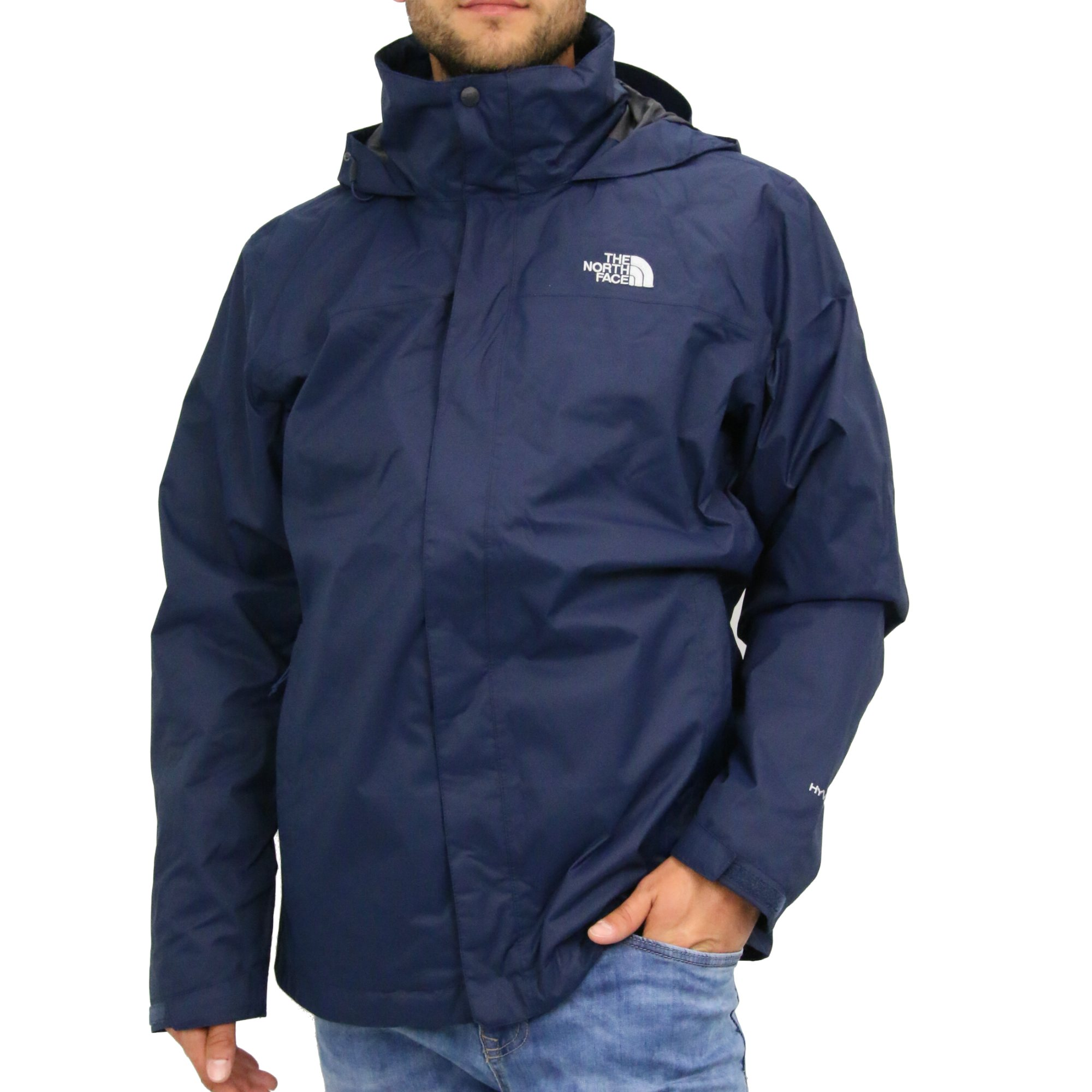 the north face evolve ii triclimate jacke doppeljacke outdoor herren blau ebay. Black Bedroom Furniture Sets. Home Design Ideas