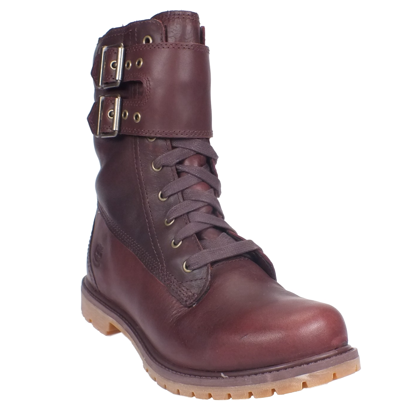 timberland earthkeepers 8 inch double strap boots damen stiefel leder schnalle ebay. Black Bedroom Furniture Sets. Home Design Ideas