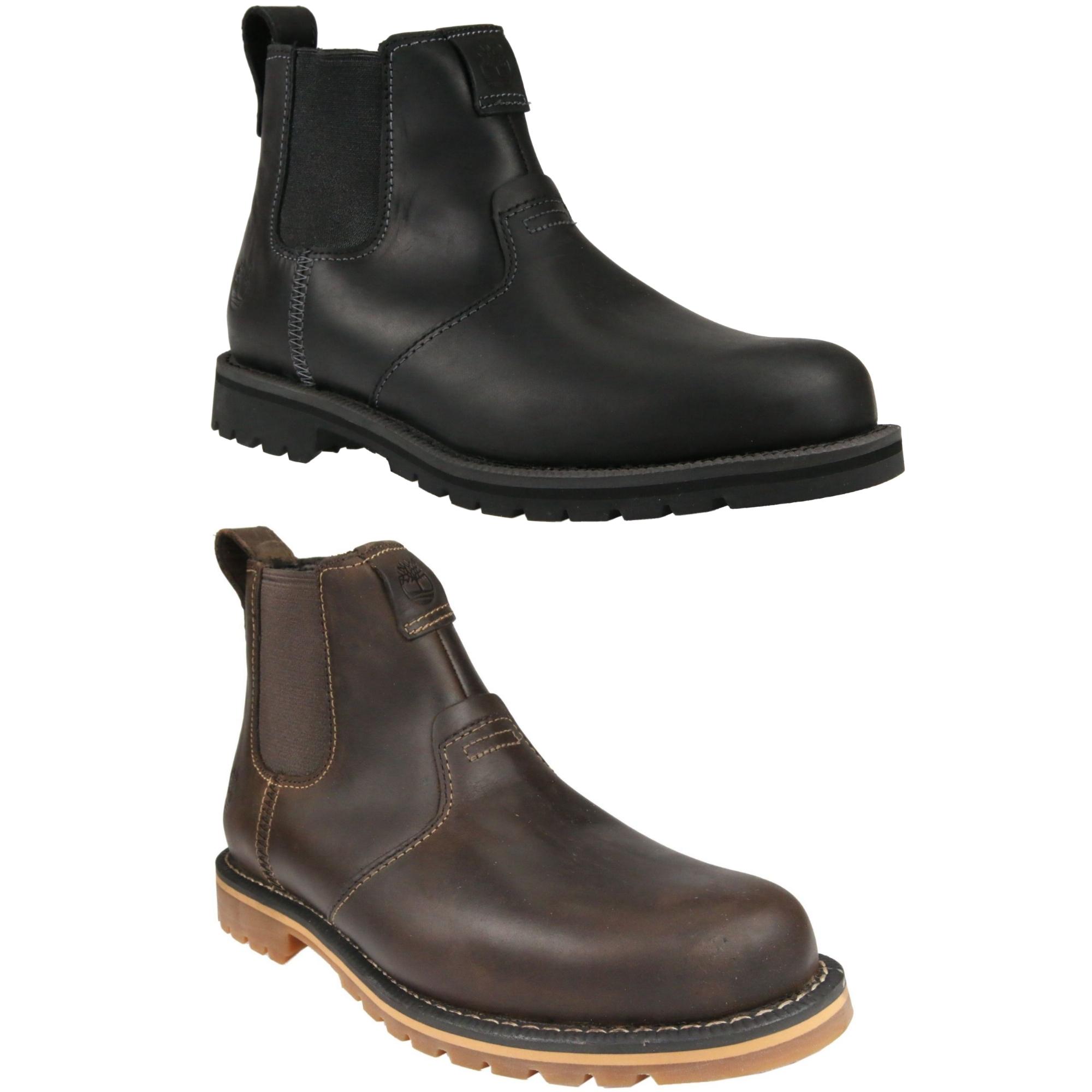 timberland grantly chelsea boots schuhe stiefel echtleder winter herren ebay. Black Bedroom Furniture Sets. Home Design Ideas