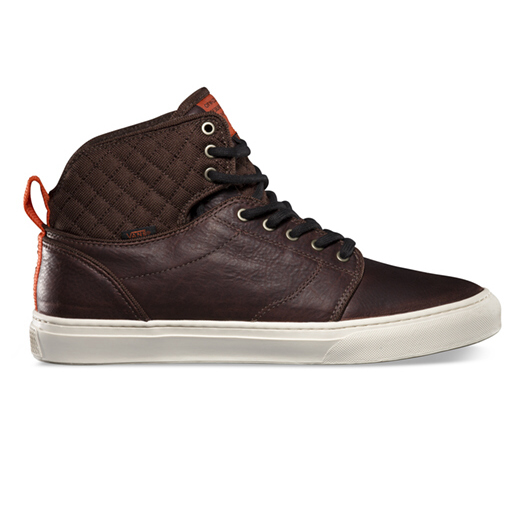 vans alomar schuhe turnschuhe high top sneaker boots herren braun schwarz ebay. Black Bedroom Furniture Sets. Home Design Ideas