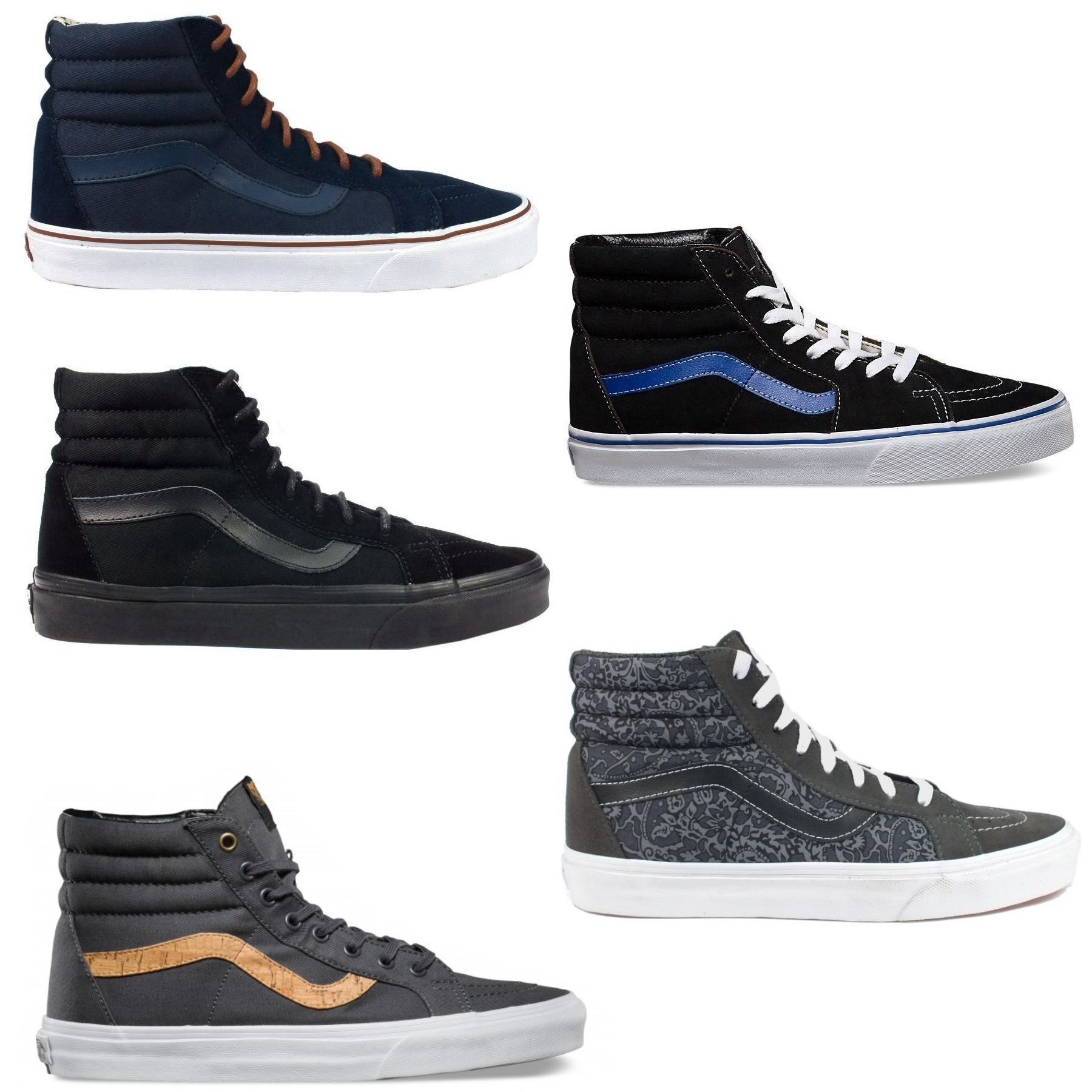 vans sk8 hi reissue schuhe sneaker turnschuhe high top. Black Bedroom Furniture Sets. Home Design Ideas