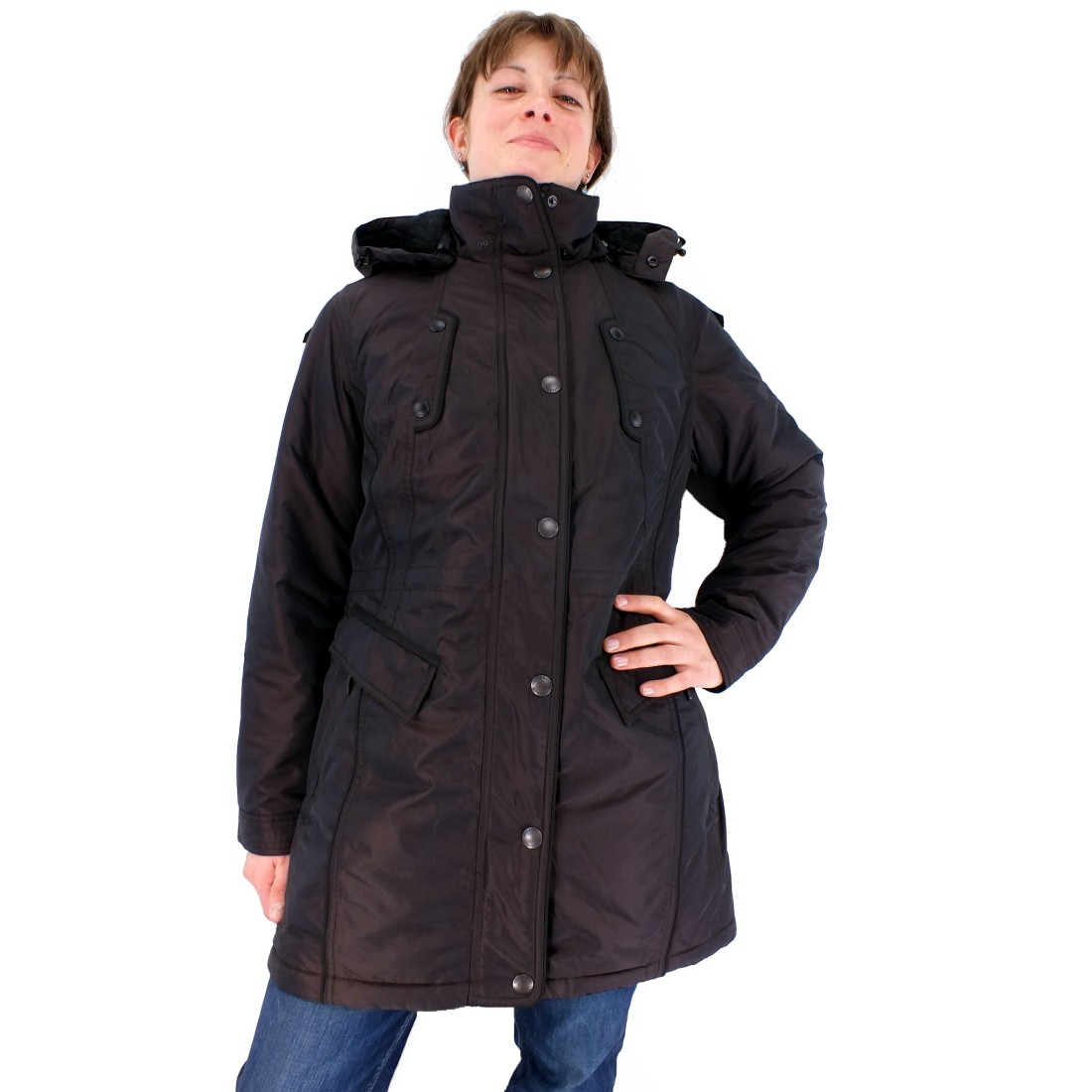 wellensteyn senses jacke winterjacke wintermantel parka damen braun ebay. Black Bedroom Furniture Sets. Home Design Ideas