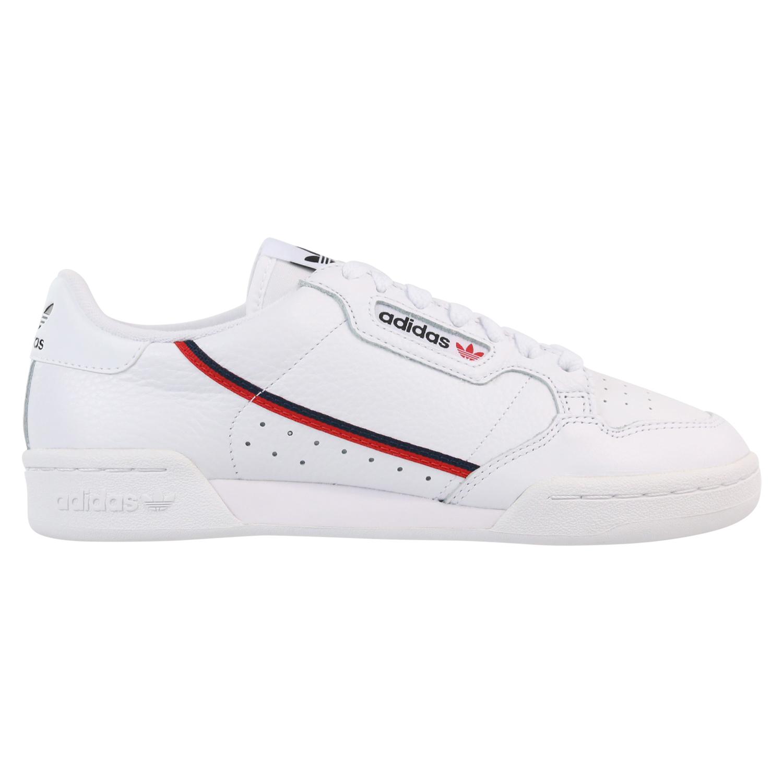 Details zu Adidas Originals Continental 80 Schuhe Sneaker Herren Damen G27706 Weiß