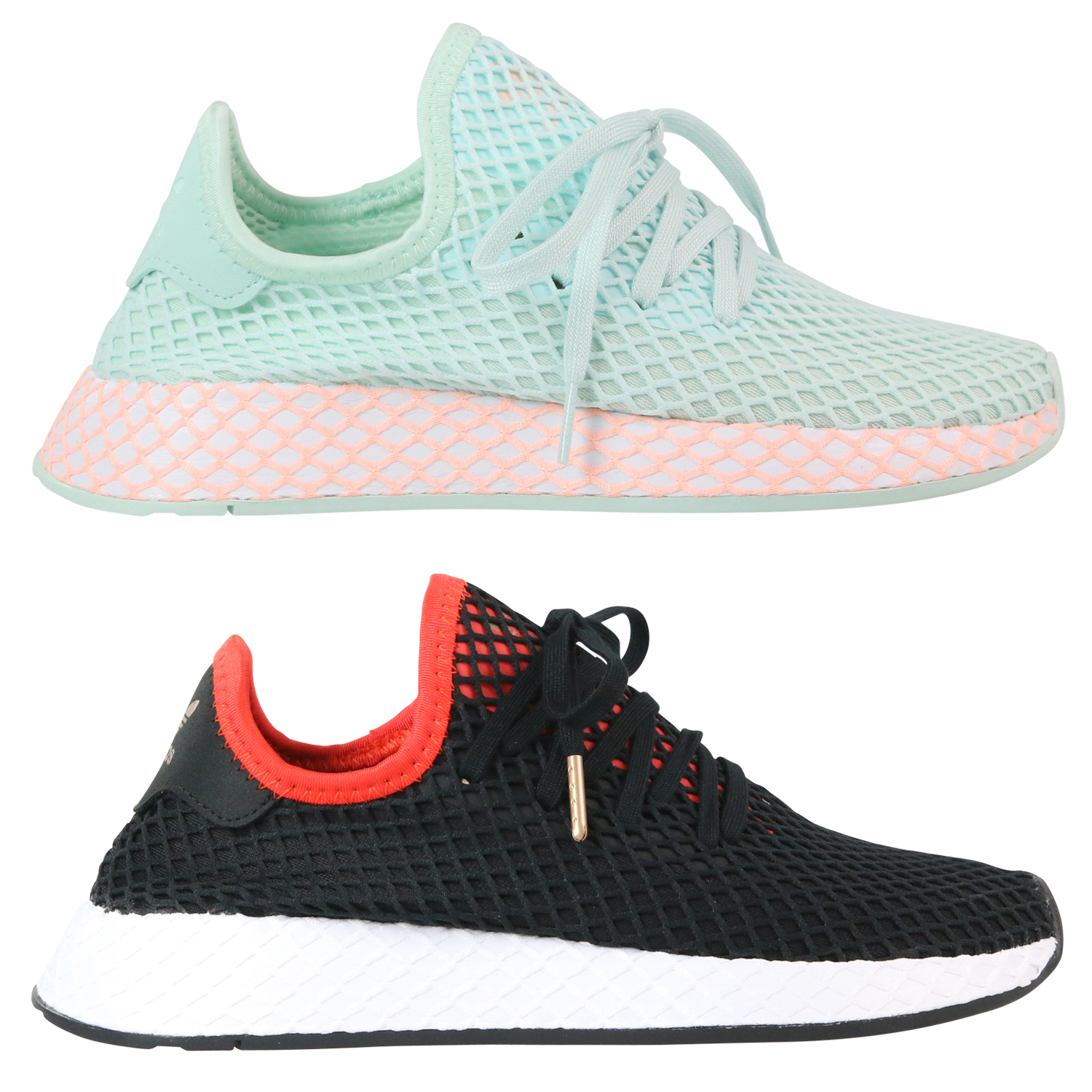 Details zu Adidas Originals Deerupt Runner Junior Schuhe Sneaker Kinder Damen