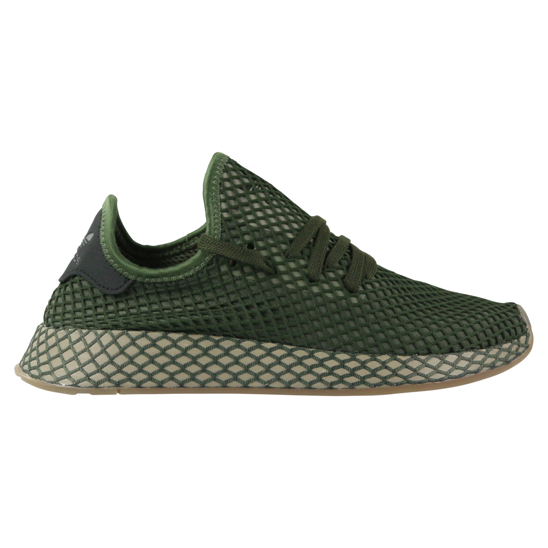 Details zu adidas Deerupt Runner Sneaker Damen Herren Unisex Schuh Grün B41771