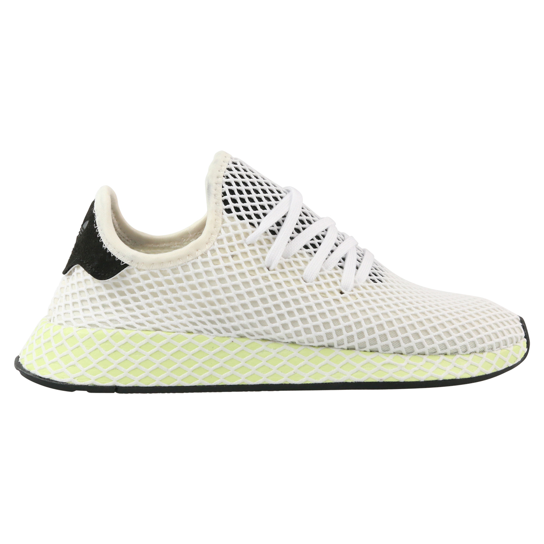 adidas Deerupt Runner Sneaker Schuhe Herren Damen Weiß CQ2629   eBay eaf26dc4bd