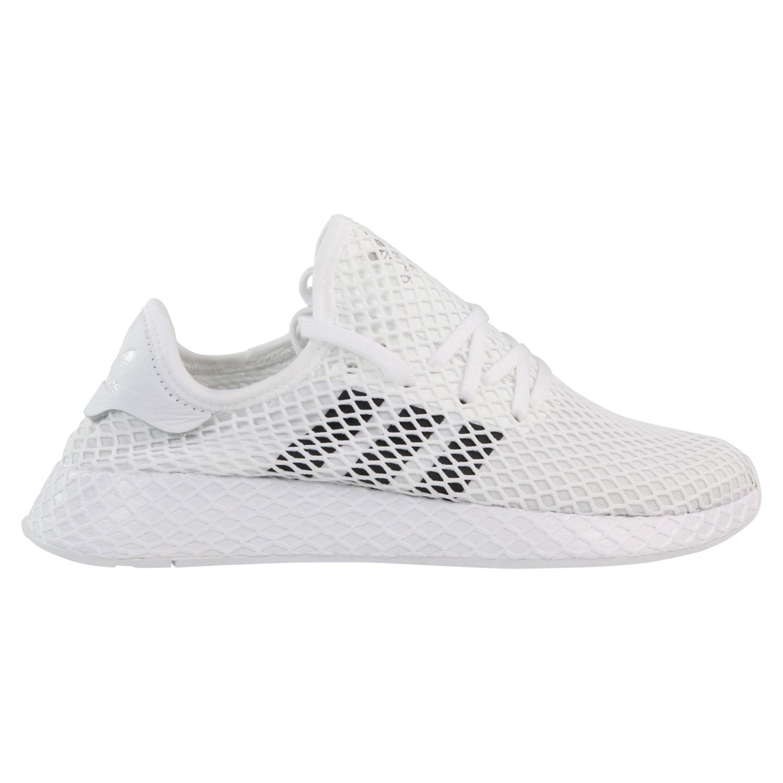 Details zu adidas Originals Deerupt Runner Sneaker Schuhe Herren Damen Weiß  DA8871