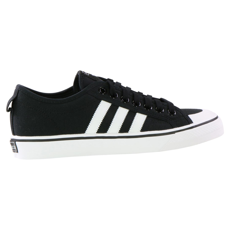 Zu Details Originals Schwarz Herren Damen Unisex Nizza Sneaker FK1TlJc3