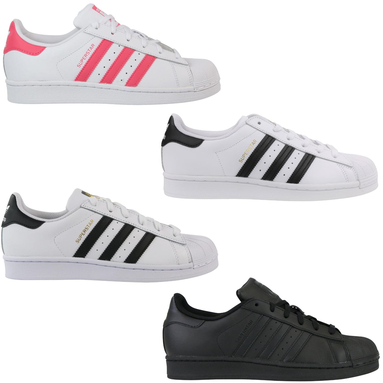 Détails sur Adidas Originals Superstar J Junior Chaussures Sneaker Enfants afficher le titre d'origine
