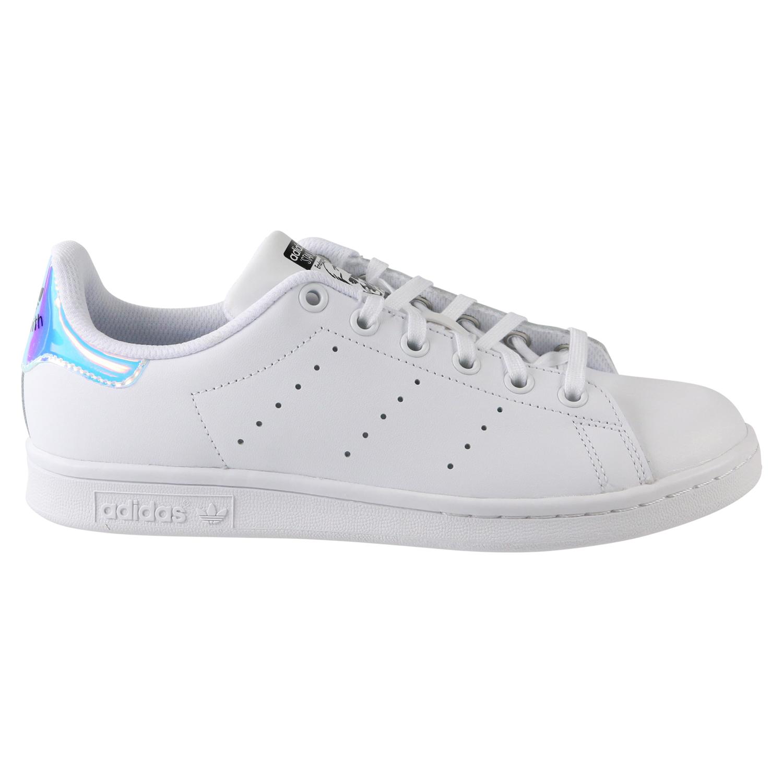 einzigartiges Design echte Qualität reduzierter Preis Details zu adidas Stan Smith Junior Sneaker Schuhe Kinder Damen Weiß AQ6272