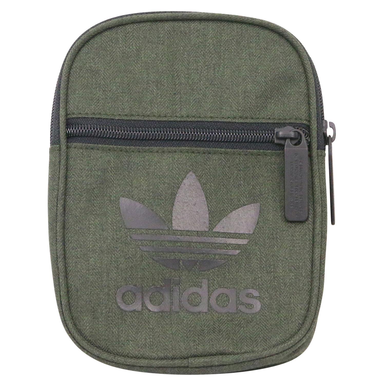 Detalles de Adidas Originals trefoil casual festival bolso bandolera Klein gris dw5198 ver título original