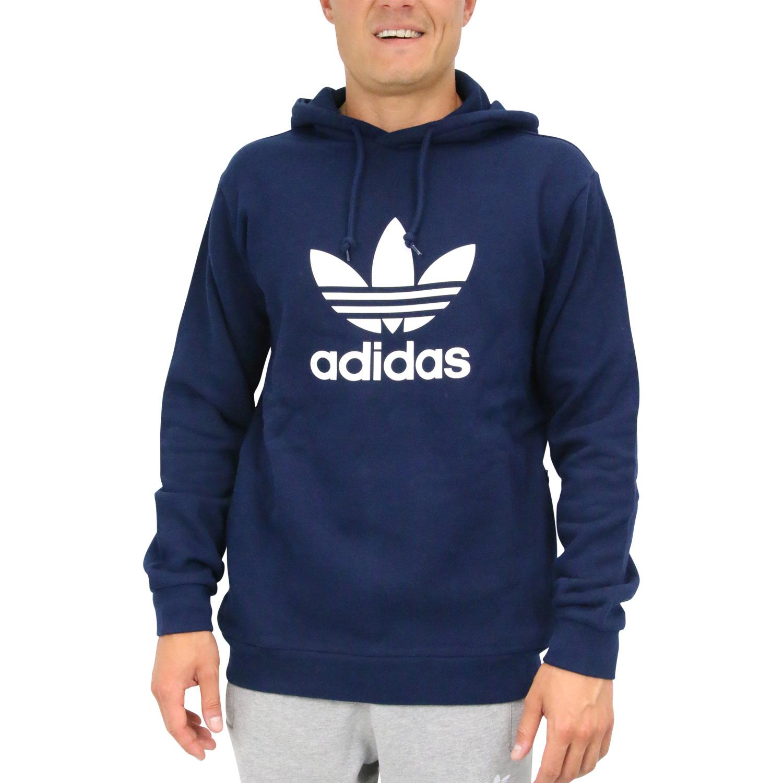 Adidas Originals Pullover Pulli Trefoil Sweatshirt schwarz S