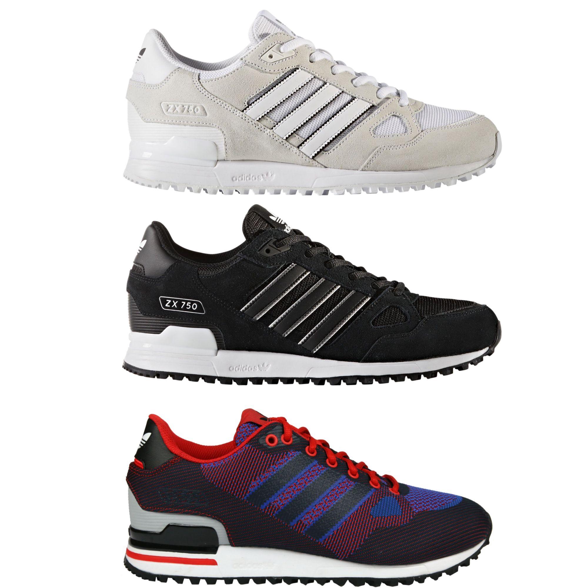 adidas originals zx 750 schuhe turnschuhe sneaker herren ebay. Black Bedroom Furniture Sets. Home Design Ideas