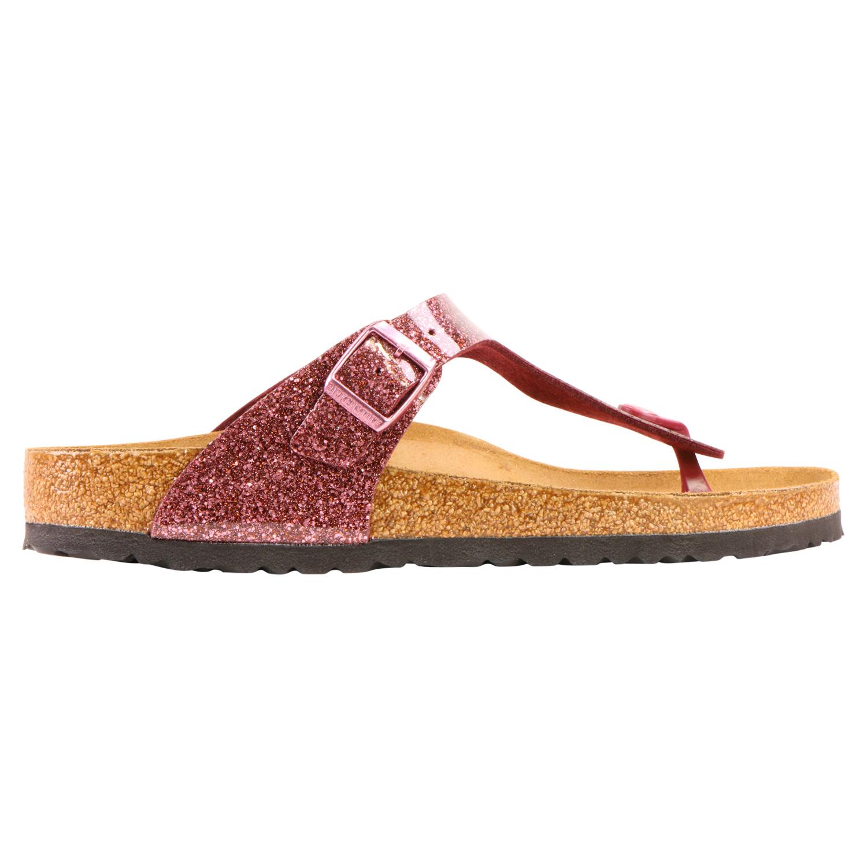 low priced b1646 b9f64 Details zu Birkenstock Gizeh BF Sandalen Schuhe Zehentrenner Damen normal  Weinrot 1014392