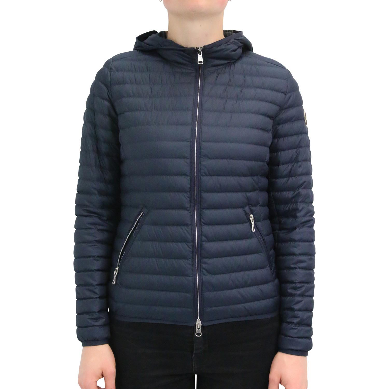 Dettagli su COLMAR Piumino con cappuccio giacca da donna 2224r 8rq 68 BLU SCURO mostra il titolo originale