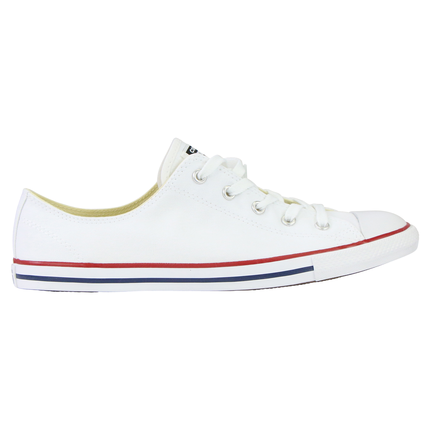 Details zu Converse Chucks All Star Dainty Ox 537204C White Canvas Schuhe Sneaker Weiß