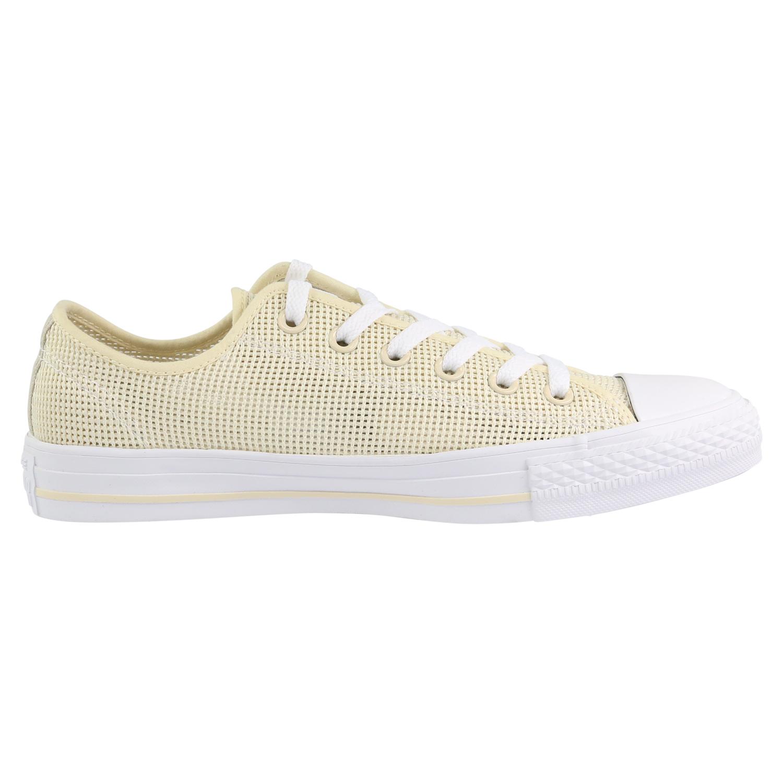 Converse All Star Ox Schuhe Turnschuhe Sneaker Damen 157405C Beige ... 11934e83d
