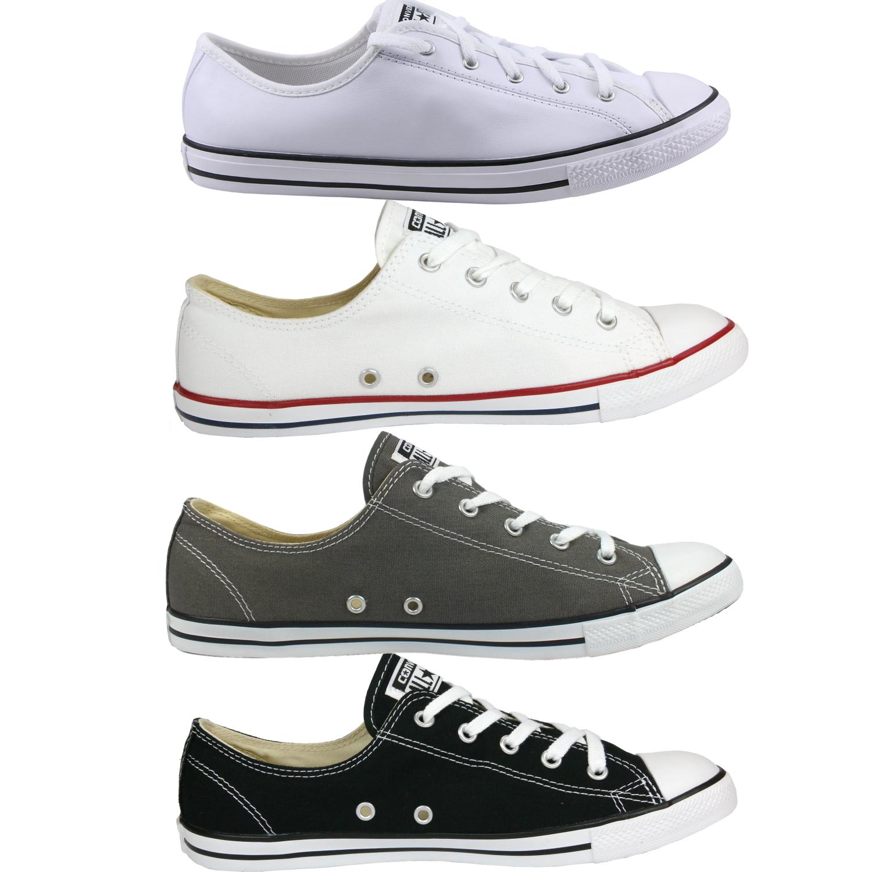 Details zu Converse All Star Chuck Taylor Dainty Ox Schuhe Sneaker Damen diverse Farben