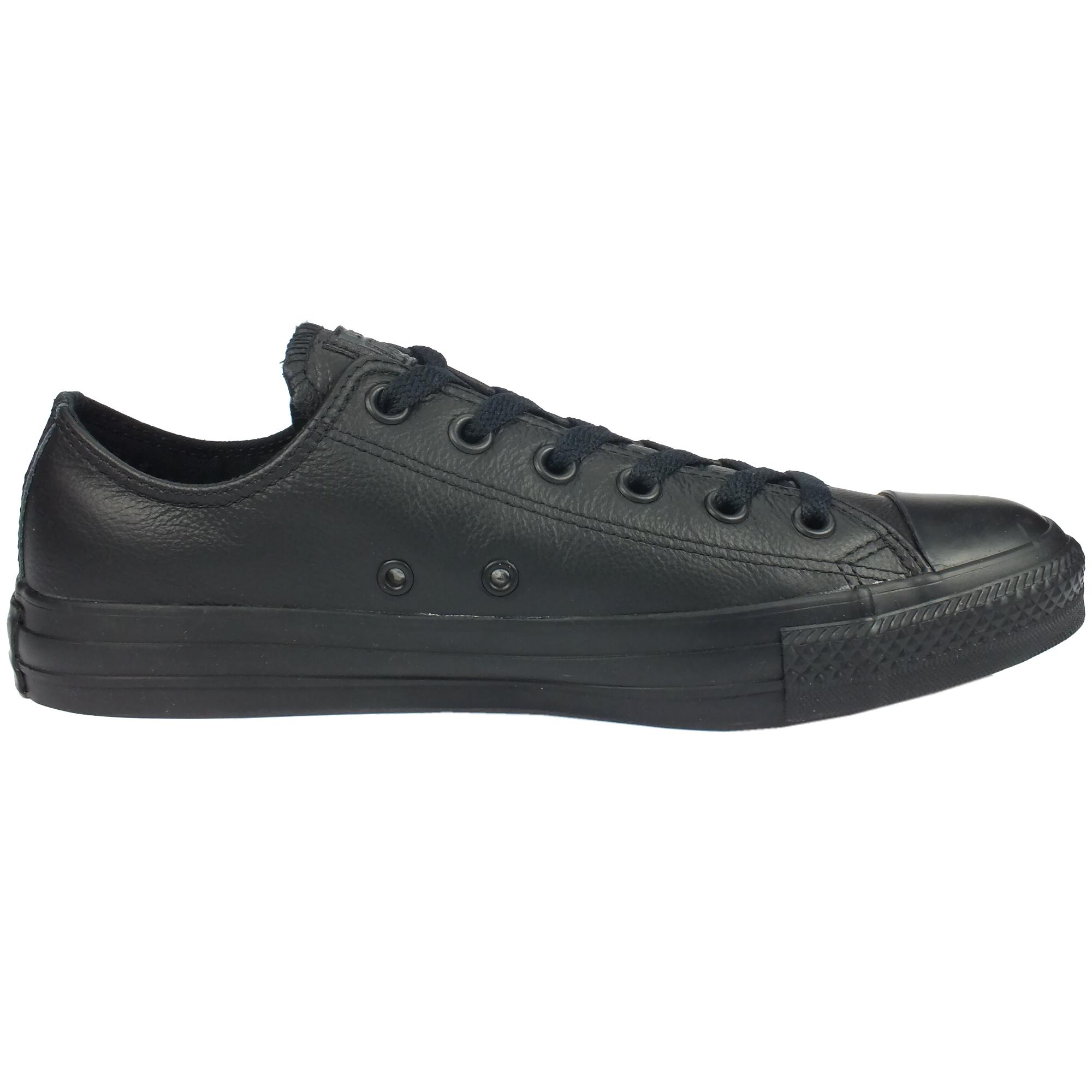 Converse Chuck Taylor Taylor Chuck All Star Core OX Leather Schuhe Sneaker Damen Herren Leder 75b817
