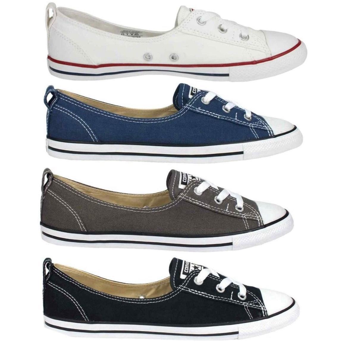 aefdd1c3c8d071 Converse Chuck Taylor All Star Ballet Lace Schuhe Sneaker Ballerinas ...