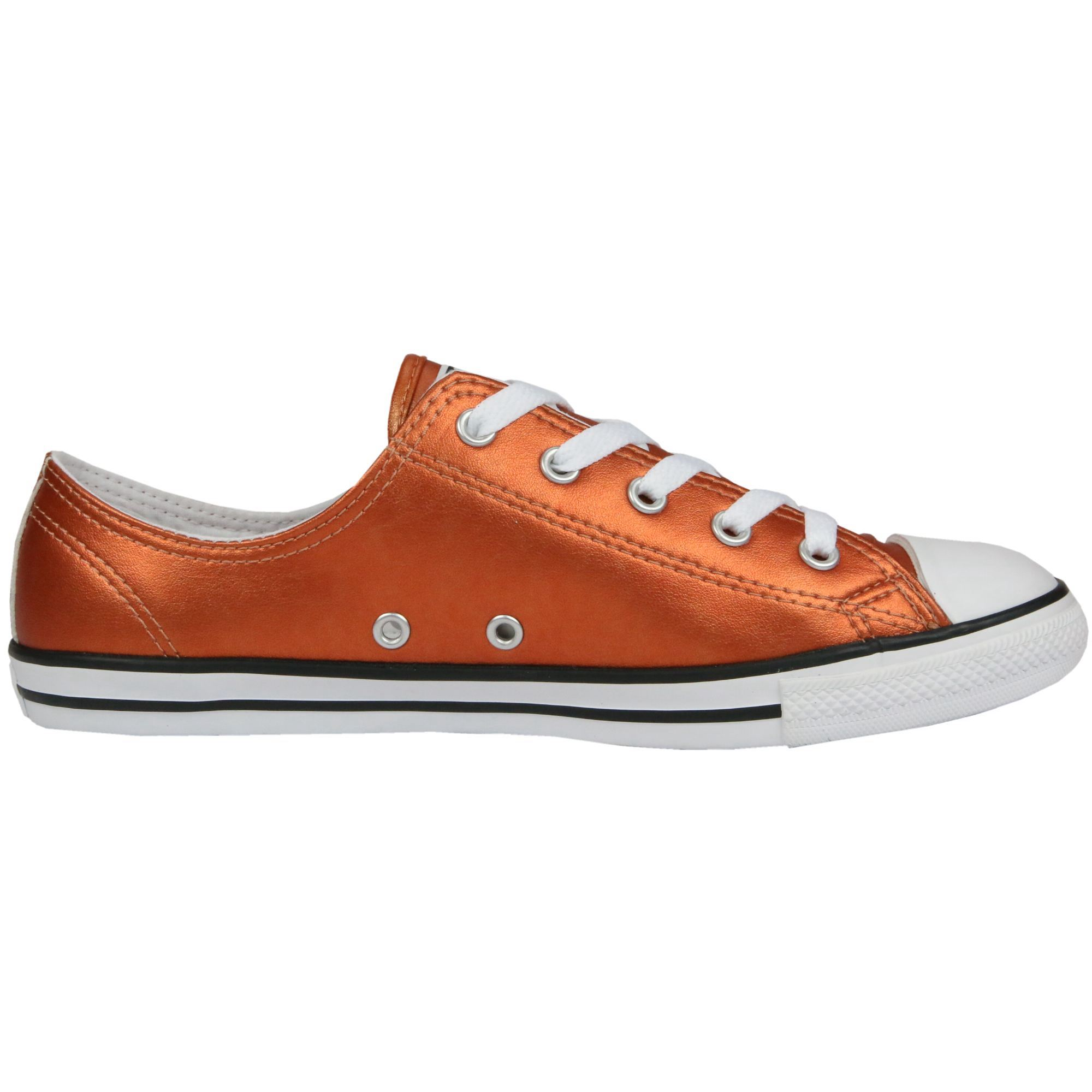 da7430280 ... Converse Chuck Taylor All Star dainty Ox Leather zapatos zapatillas  cuero genuino damas ...