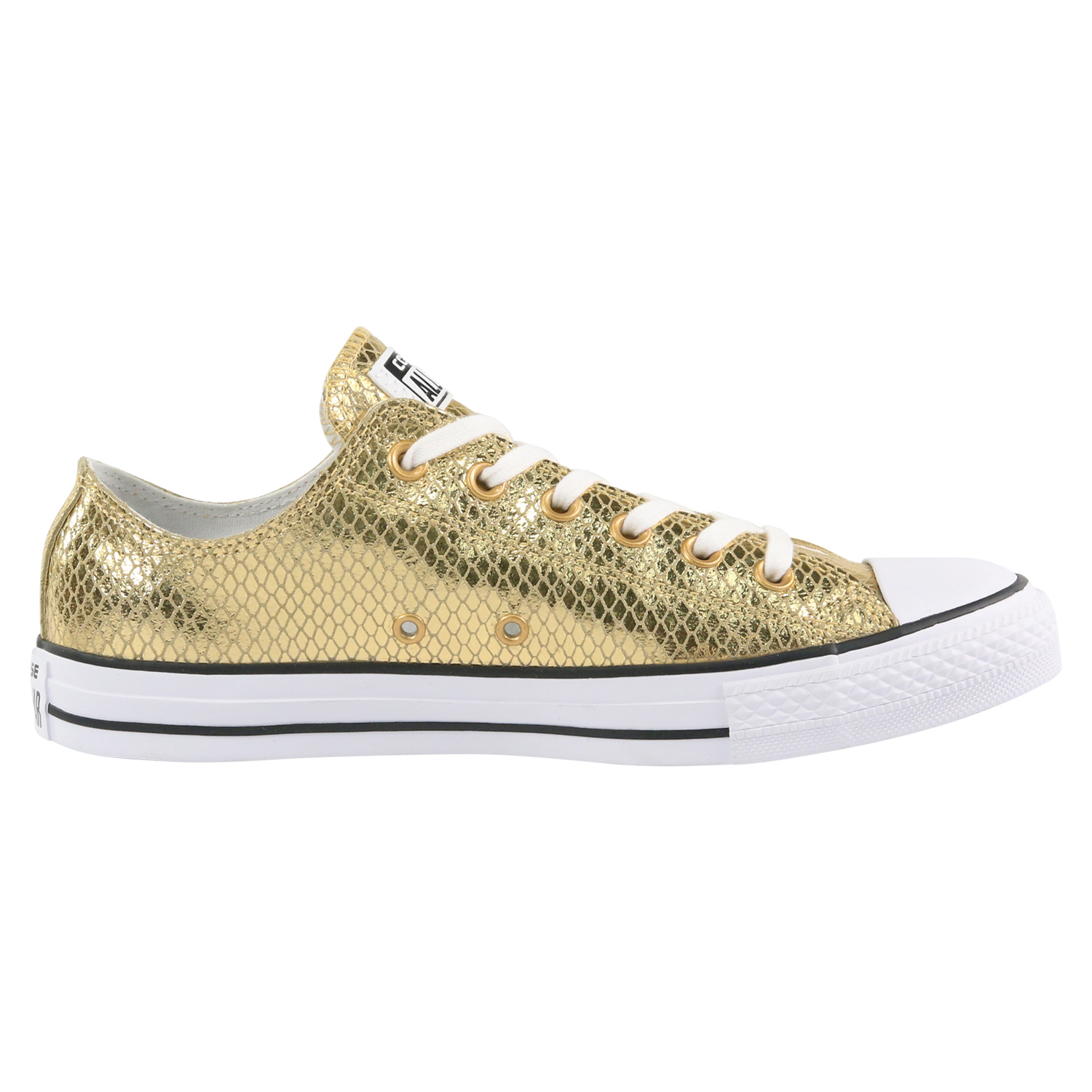 converse ct as metallic scaled leather low damen sneaker. Black Bedroom Furniture Sets. Home Design Ideas